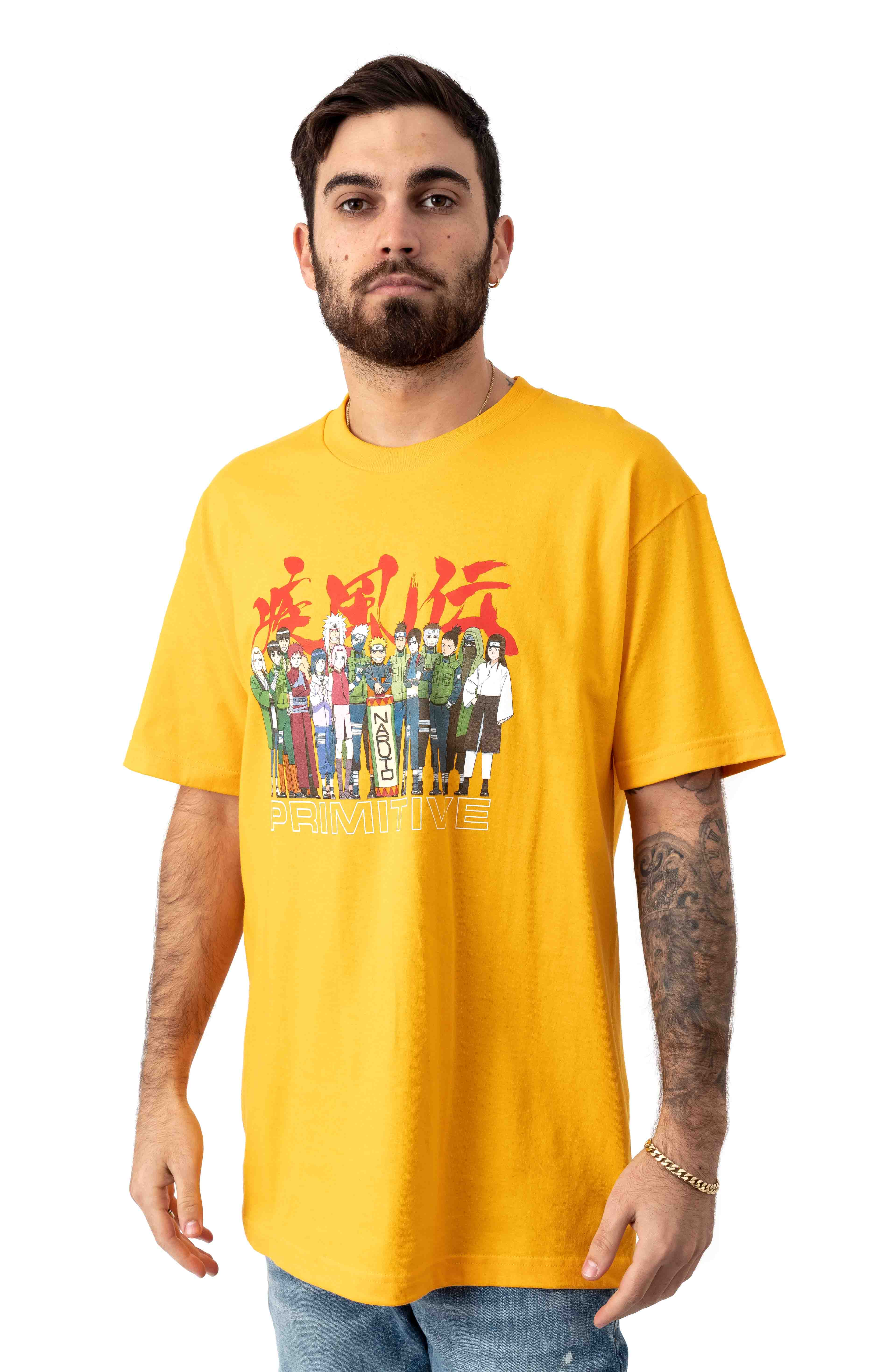 Leaf Village T-Shirt - Gold 2