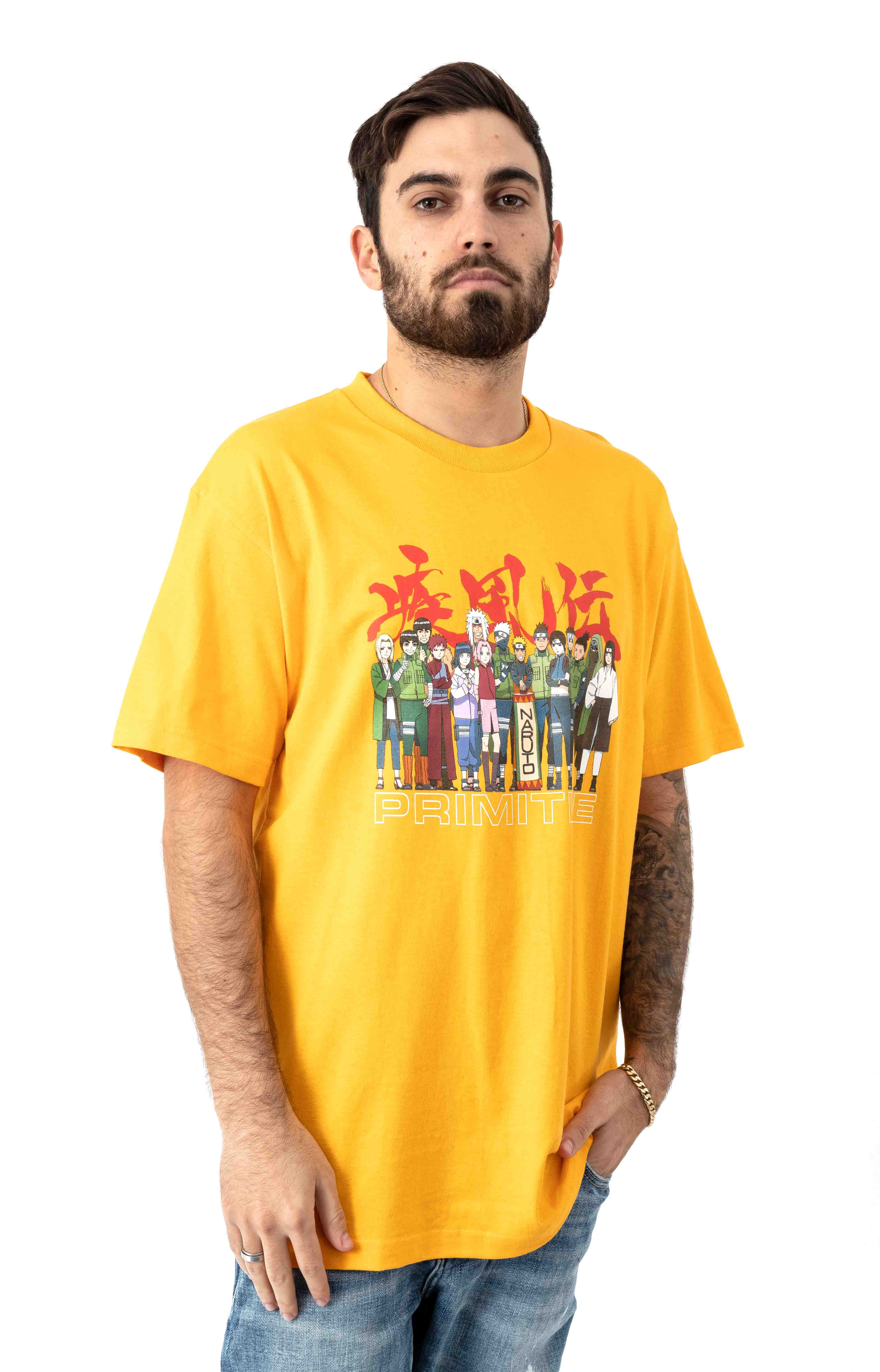Leaf Village T-Shirt - Gold