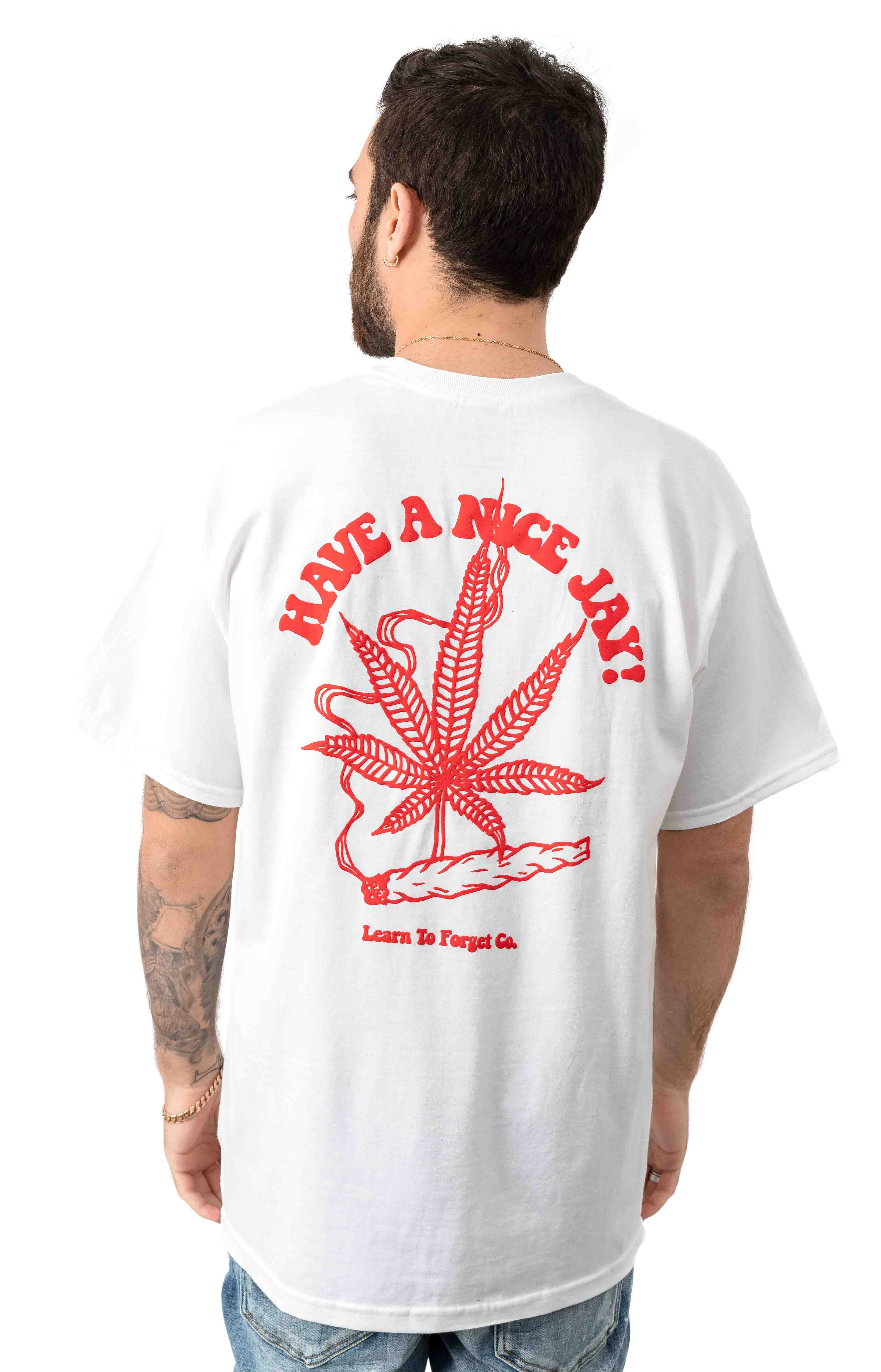 Have A Nice Jay T-Shirt - White 3