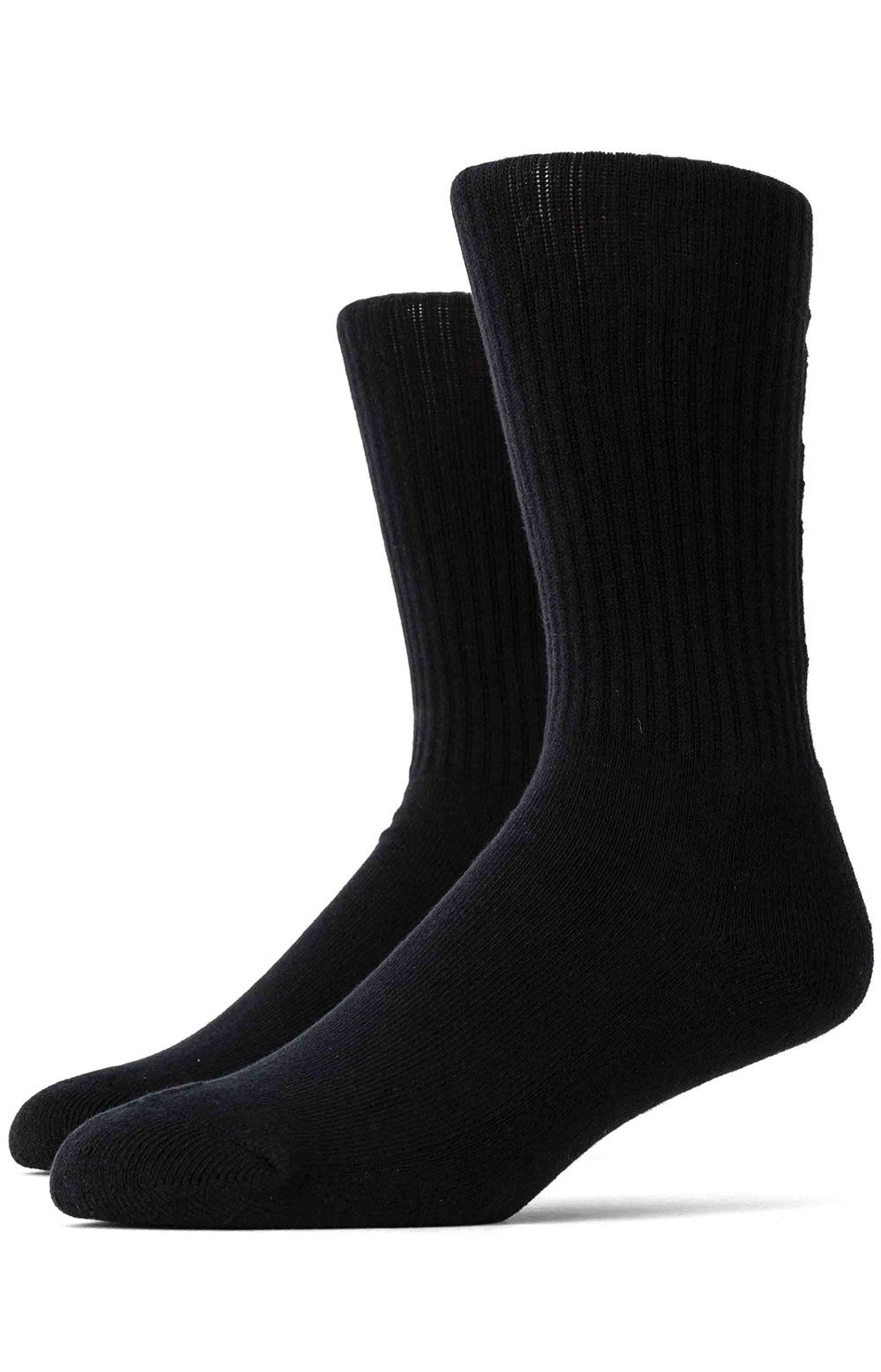 Standard Logo Middle  Socks - Black 2