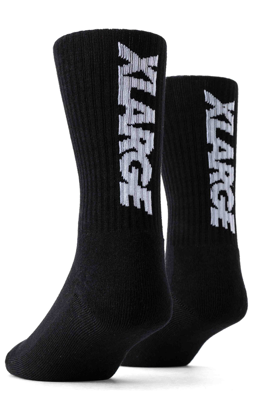 Standard Logo Middle  Socks - Black