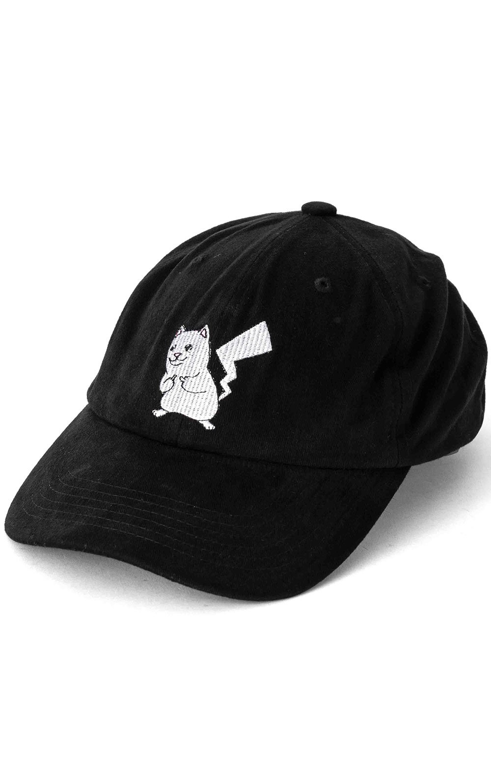 Catch Em All Strap-Back Hat - Black