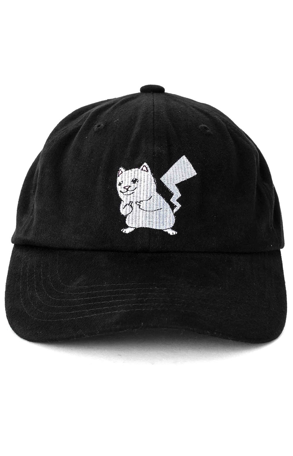 Catch Em All Strap-Back Hat - Black 2