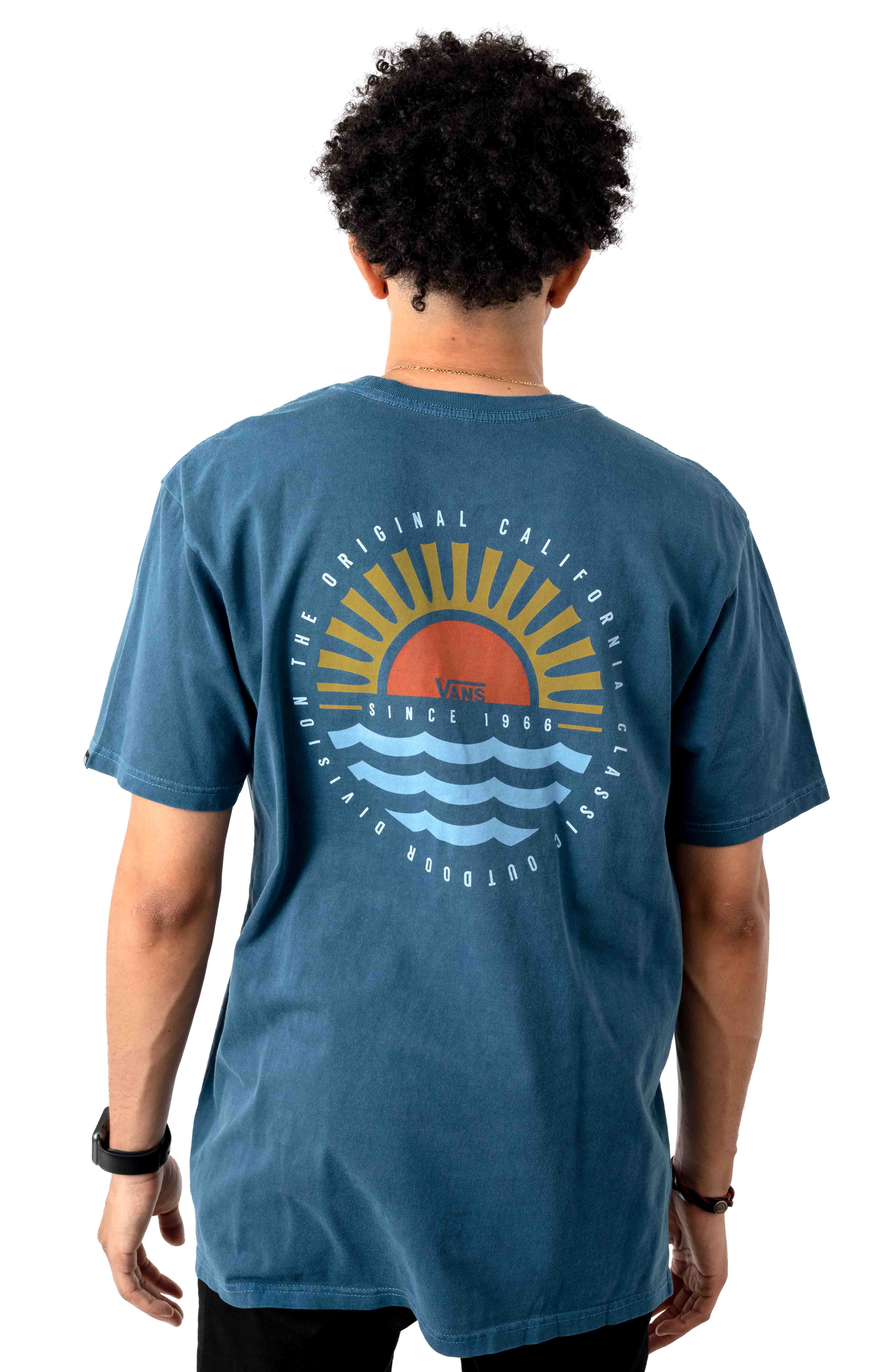 Vans Sunset Beach T-Shirt - Gibraltar Sea