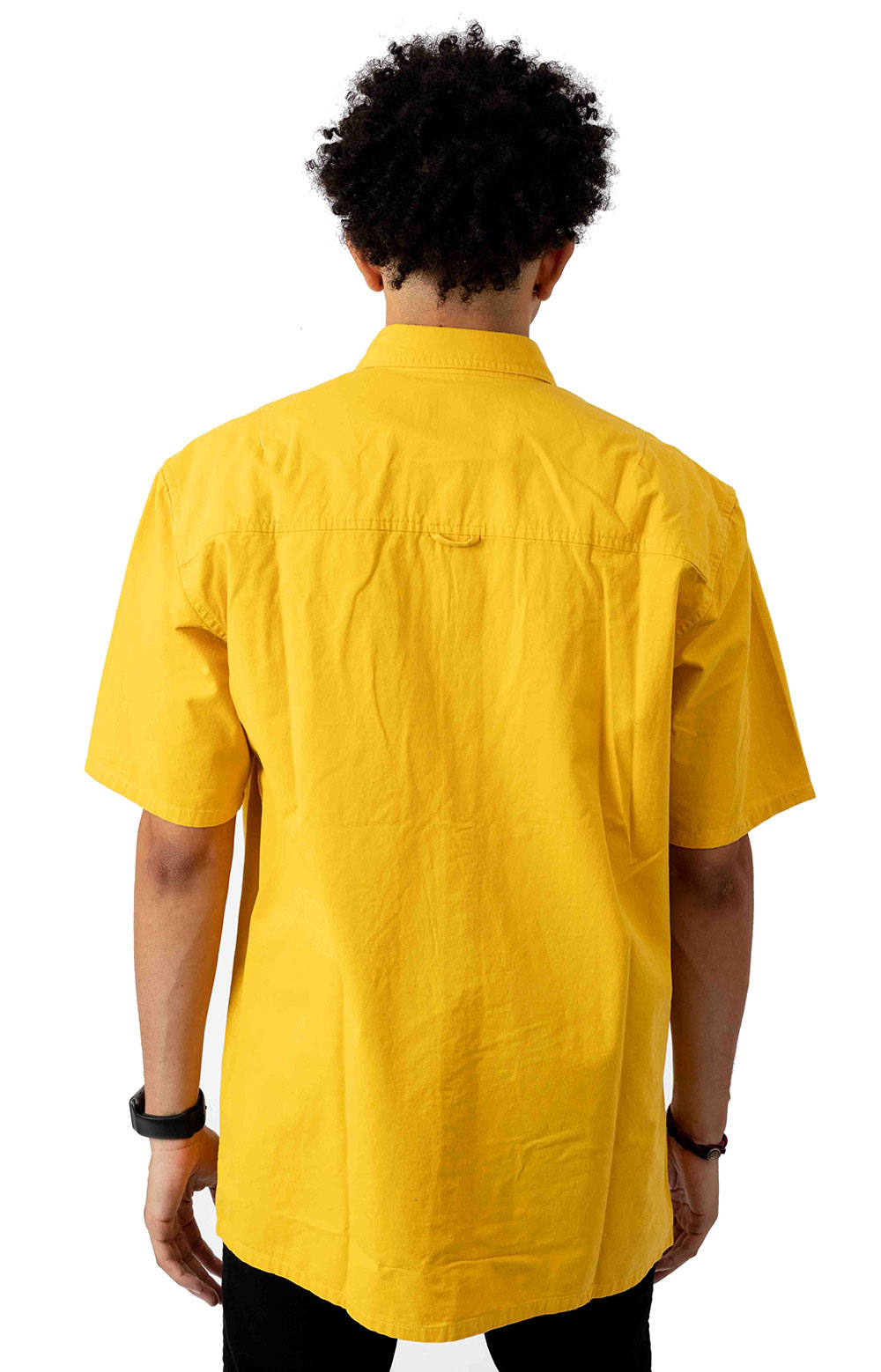 Buy Button-Up Shirt - Yellow  3