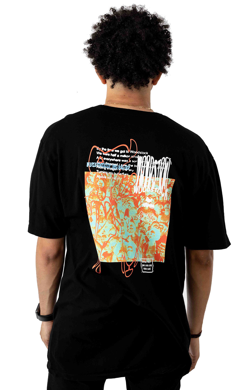 Woodstock Nobody Came T-Shirt - Black