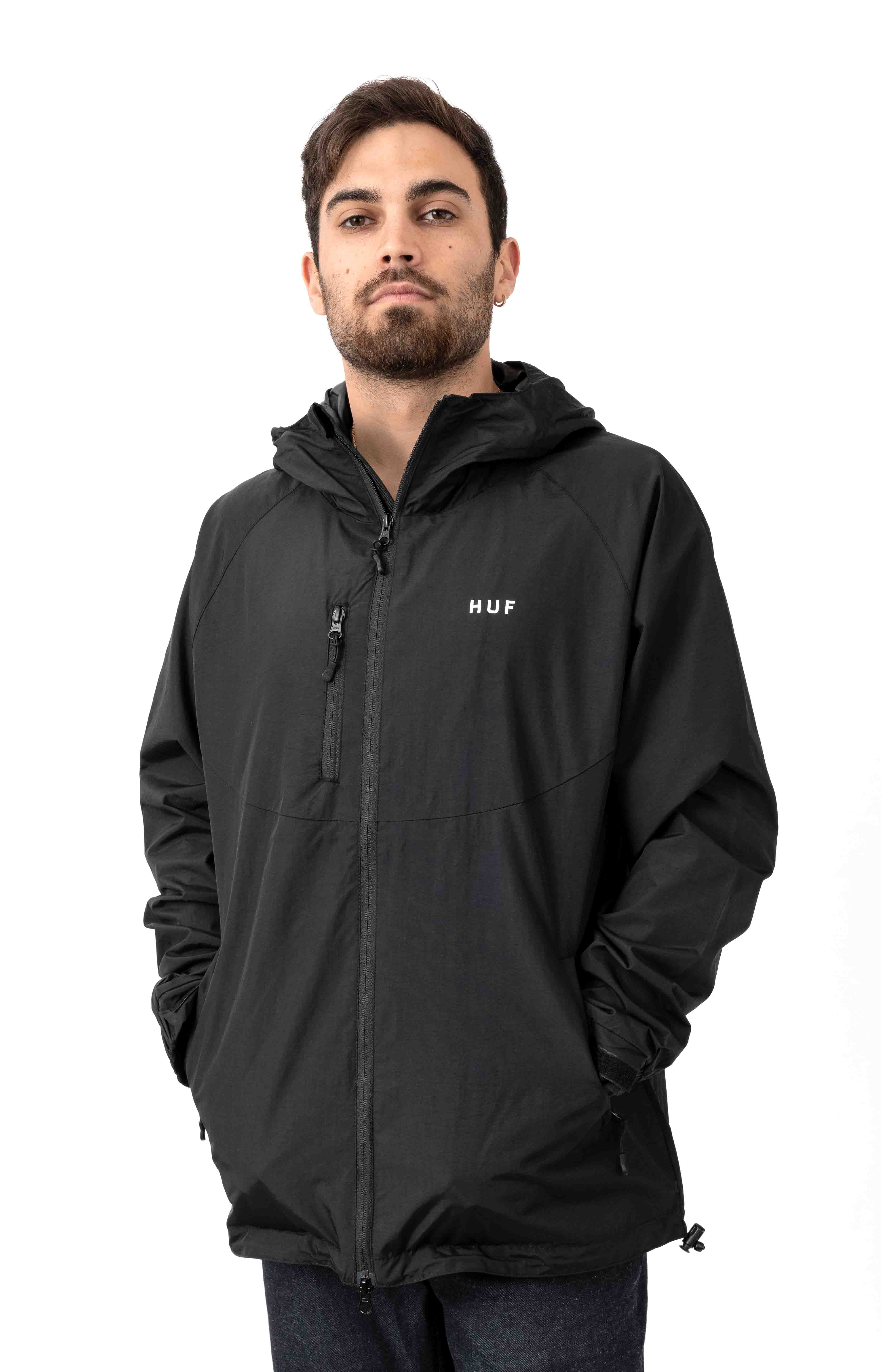 Standard 2 Shell Jacket - Black/White