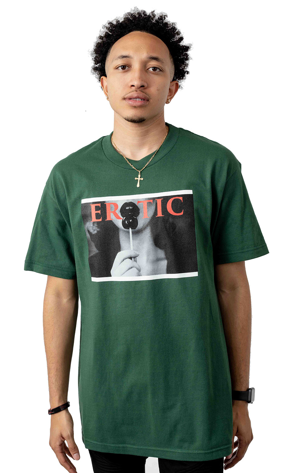 Erotic T-Shirt - Forest Green