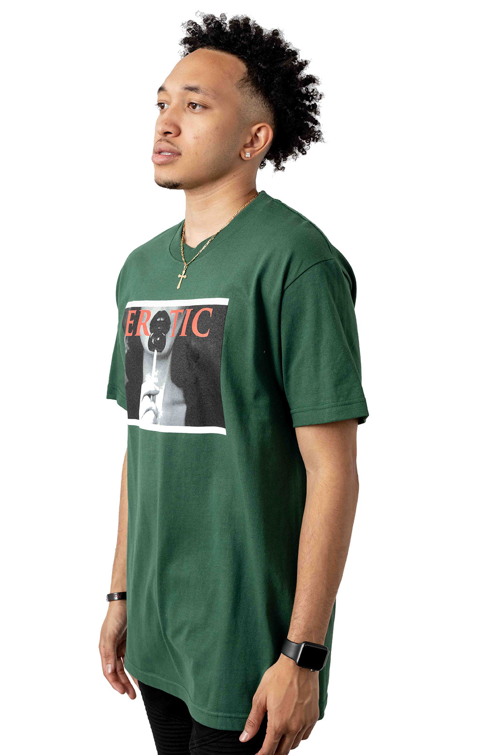 Erotic T-Shirt - Forest Green 2
