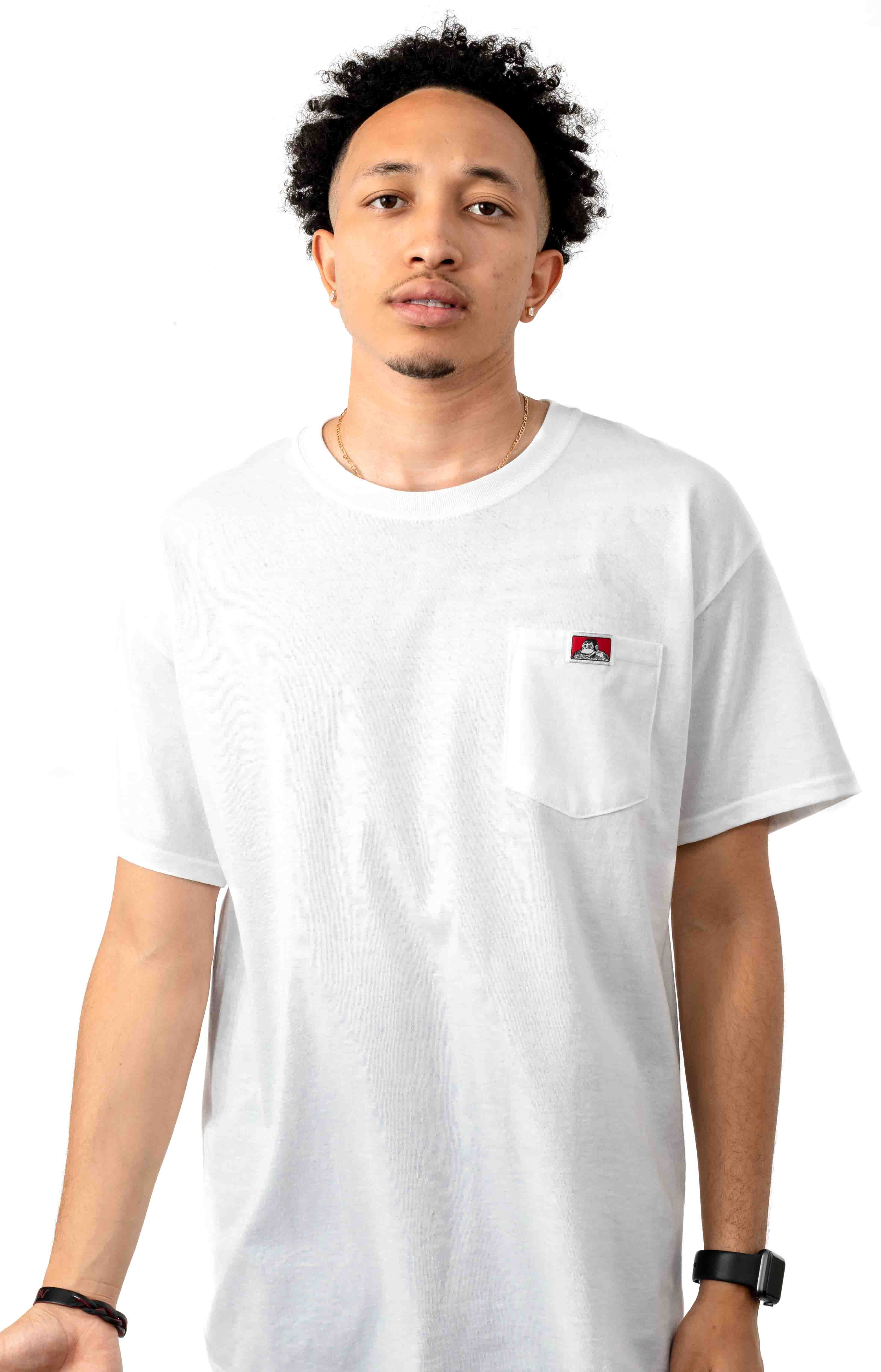 Classic Label Pocket T-Shirt - White