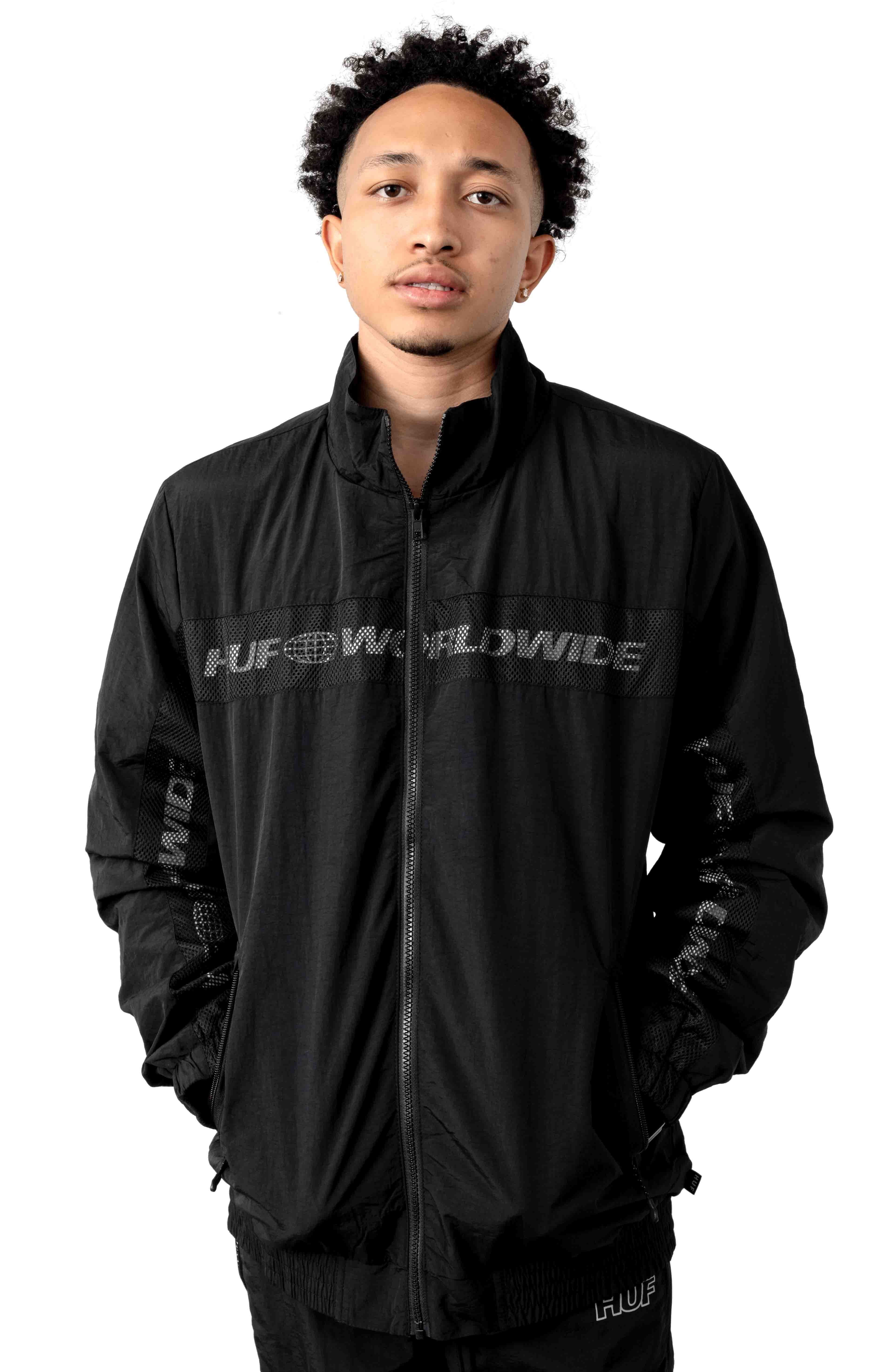 Marathon Track Jacket - Black