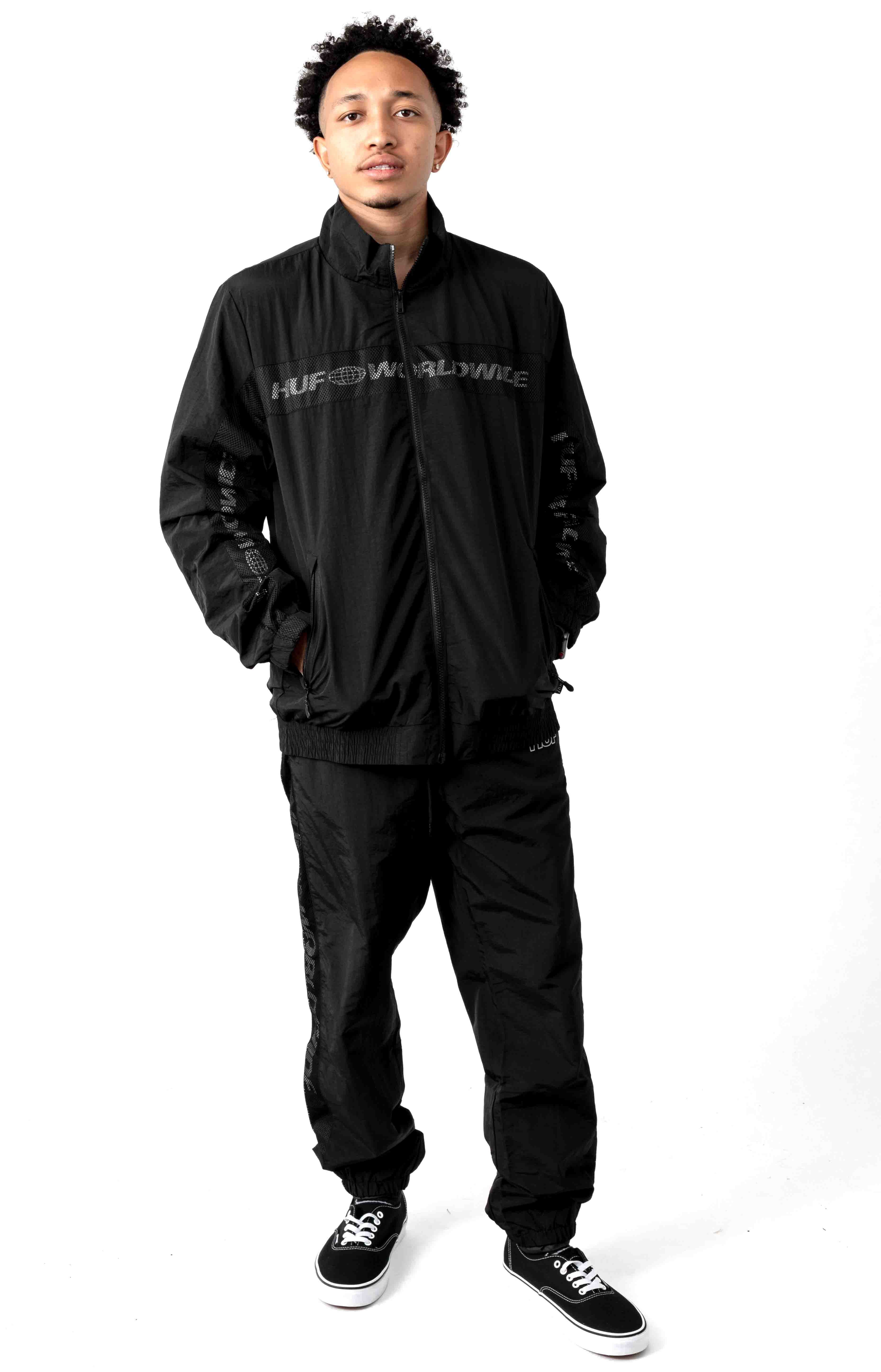 Marathon Track Jacket - Black 4