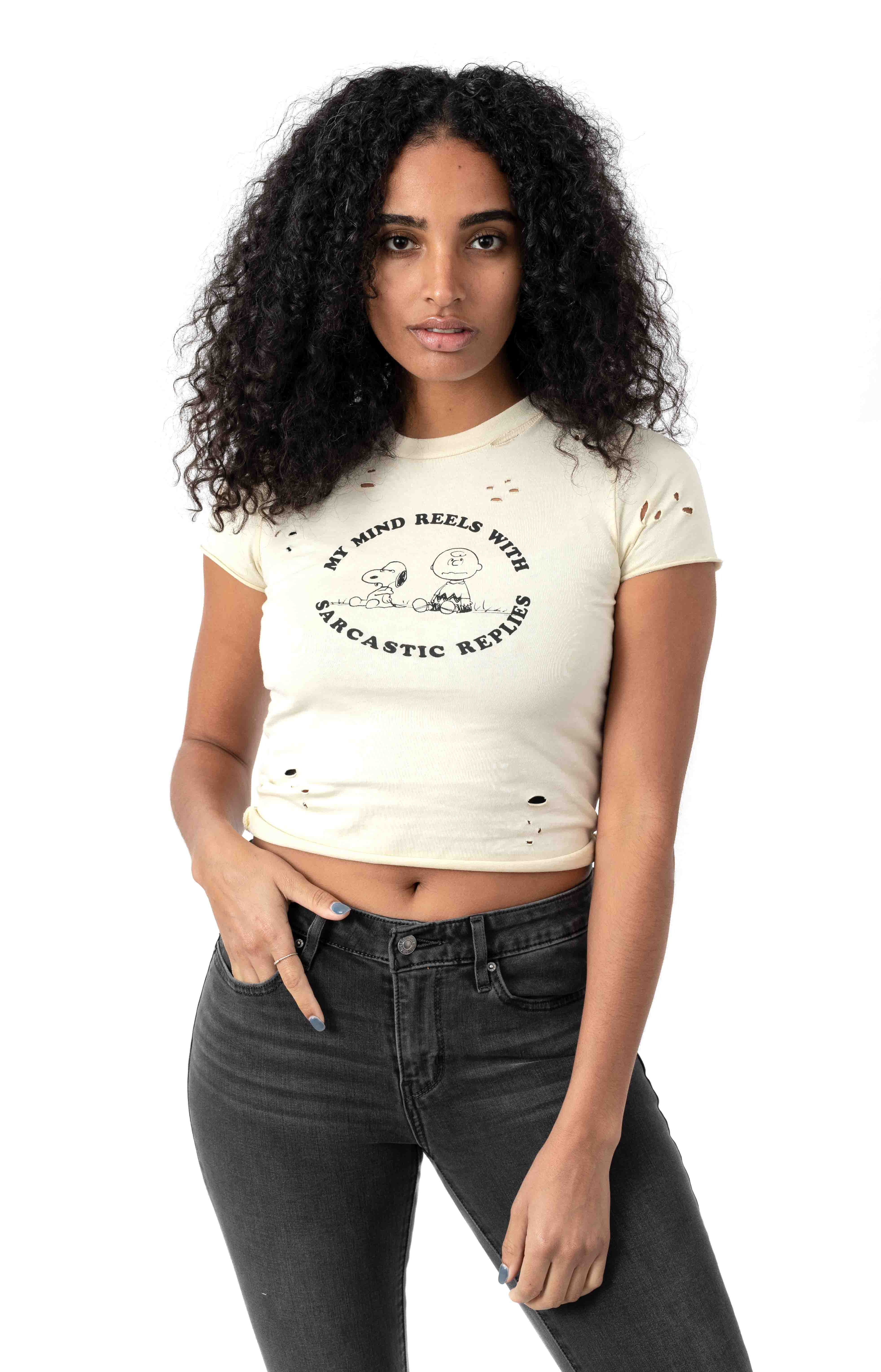 Peanuts Fitted T-Shirt