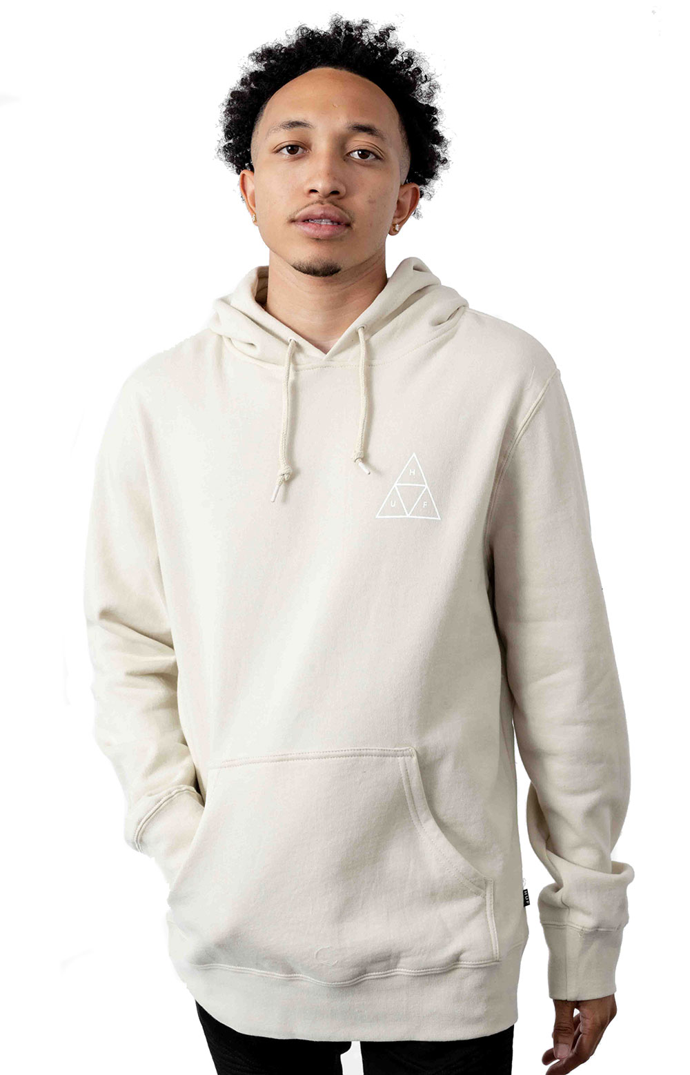 Dystopia Pullover Hoodie - Light Grey