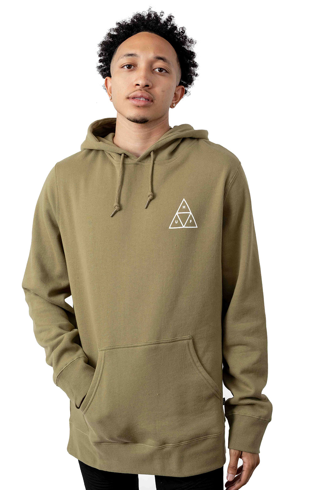 Huf Dystopia Pullover Hoodie - Dried Herb