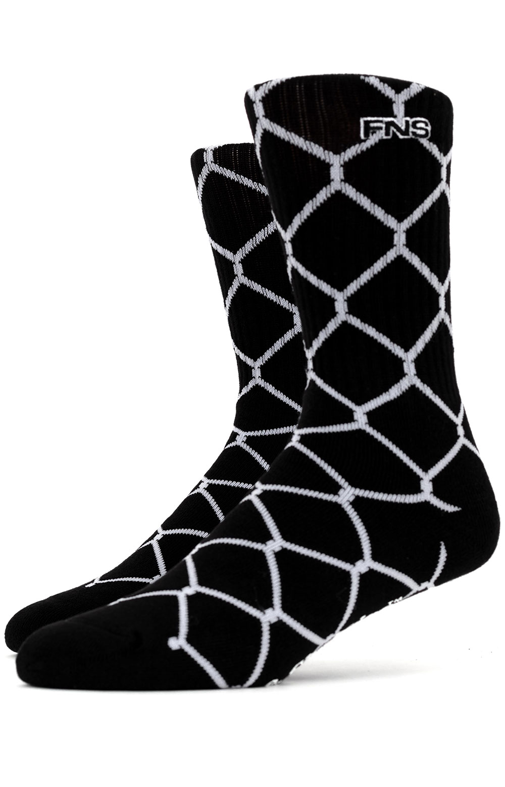 Chain Link Socks - Black