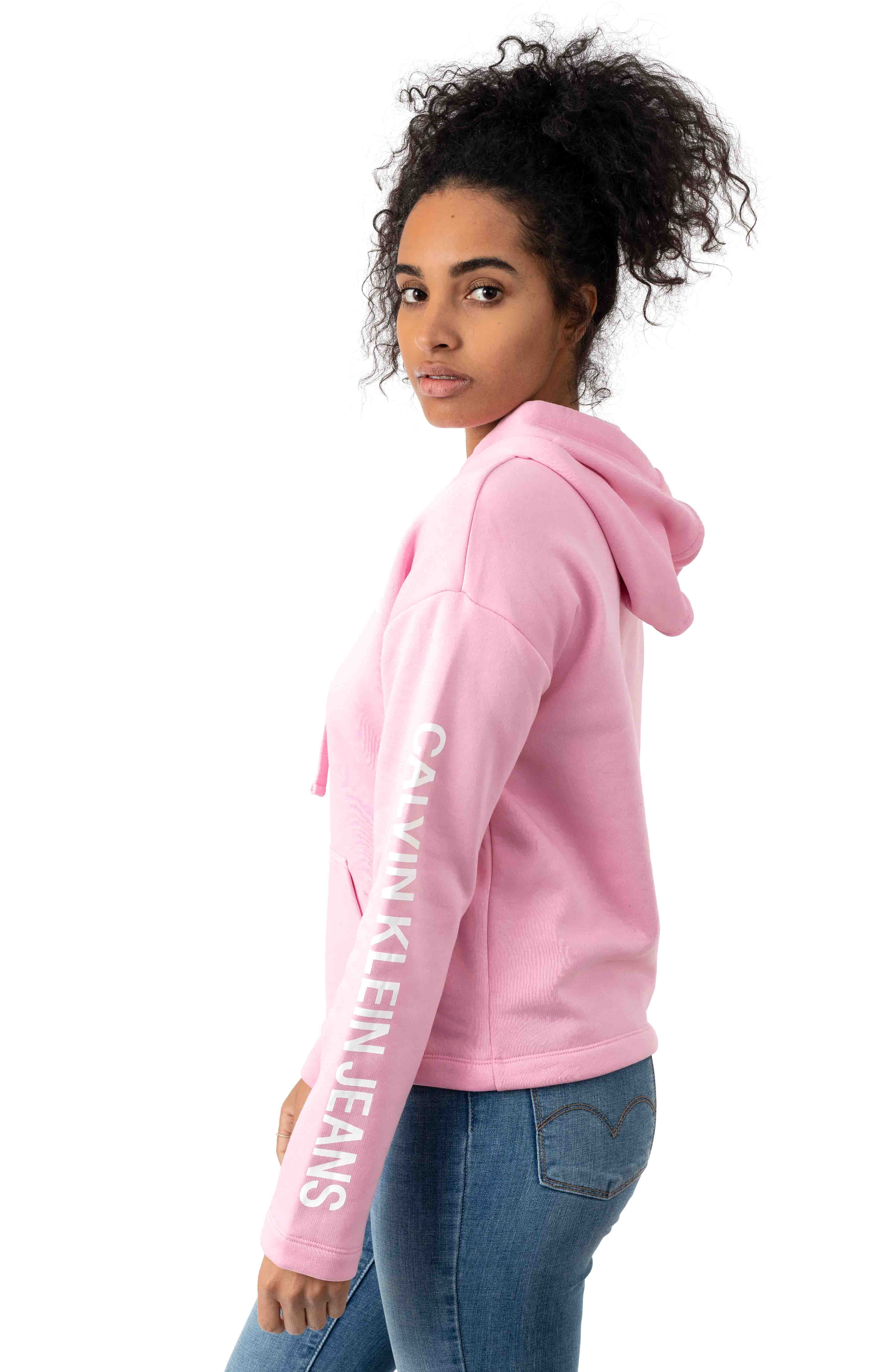 Calvin Classic Pullover Hoodie - Prism Pink 2