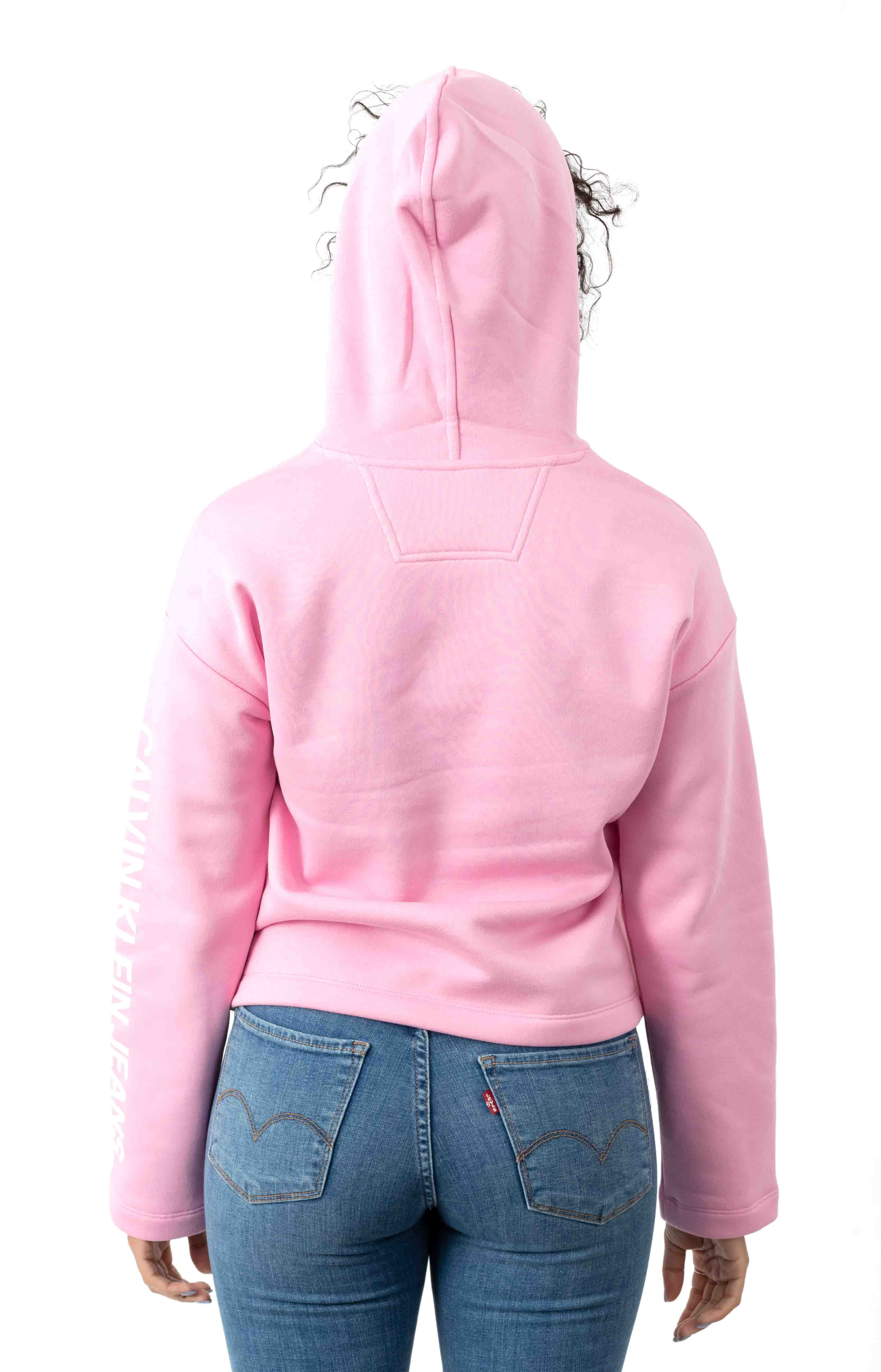 Calvin Classic Pullover Hoodie - Prism Pink 3
