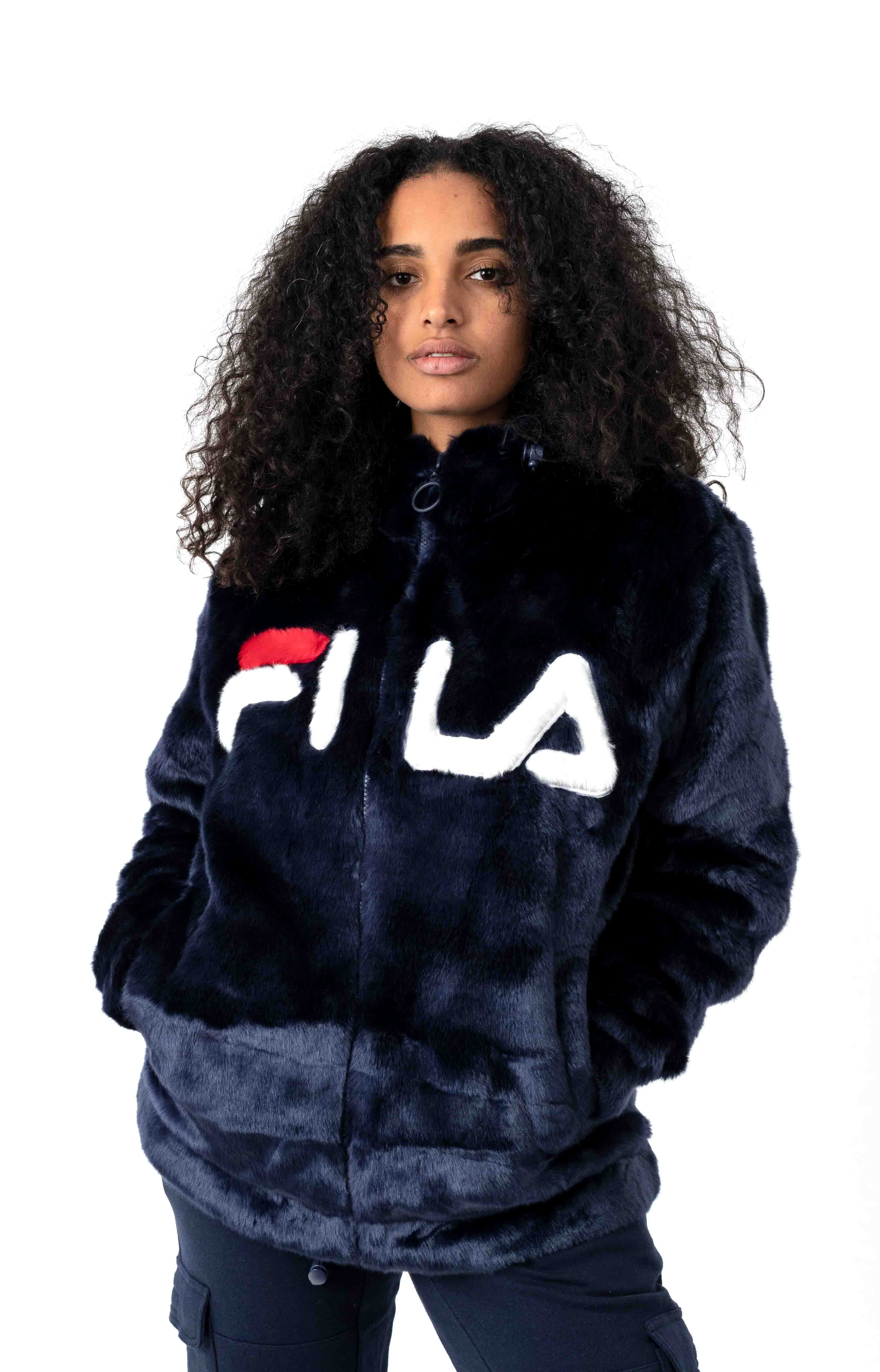 Dolly Oversized Pullover Hoodie - Peacoat