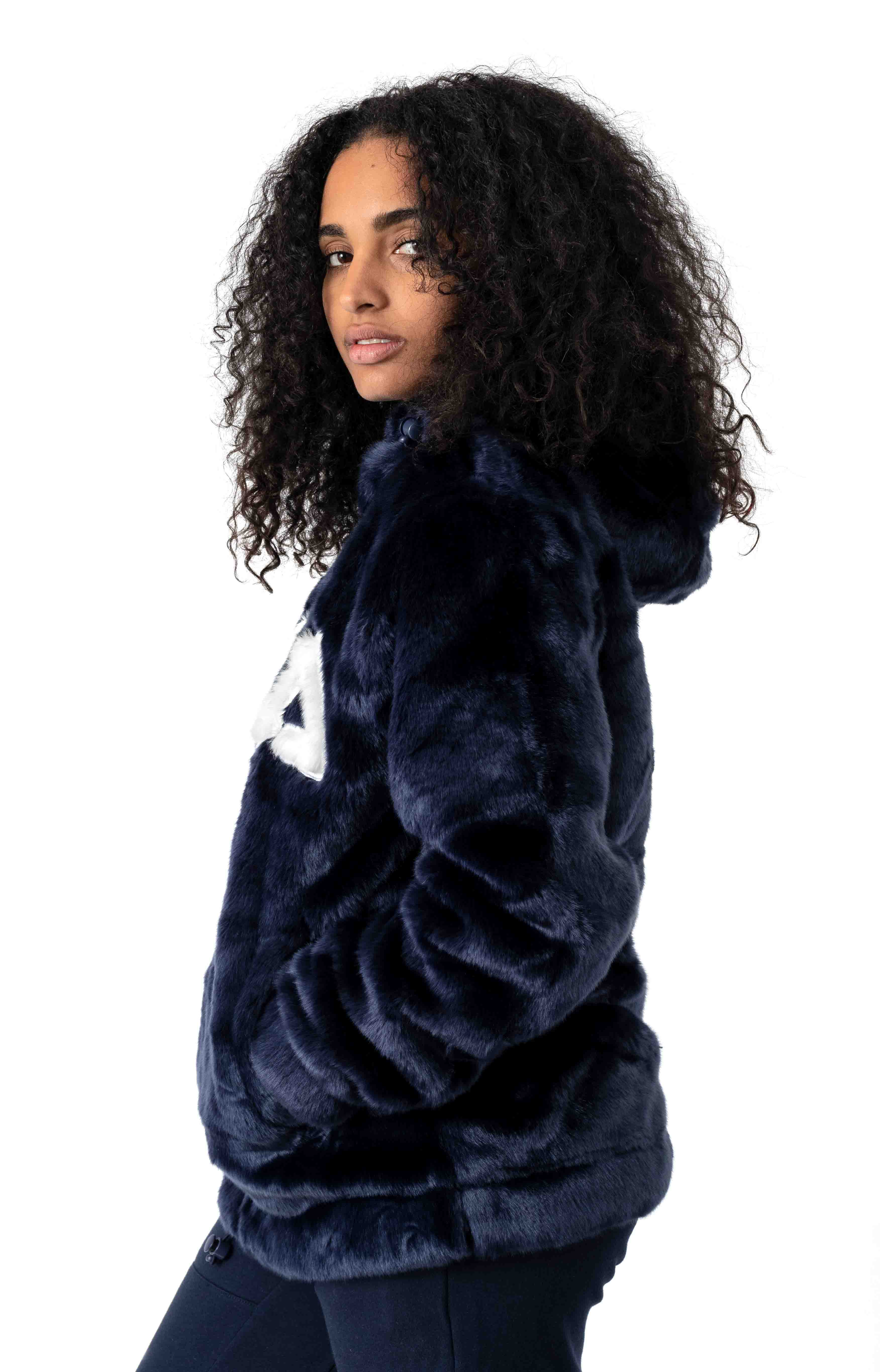 Dolly Oversized Pullover Hoodie - Peacoat 2