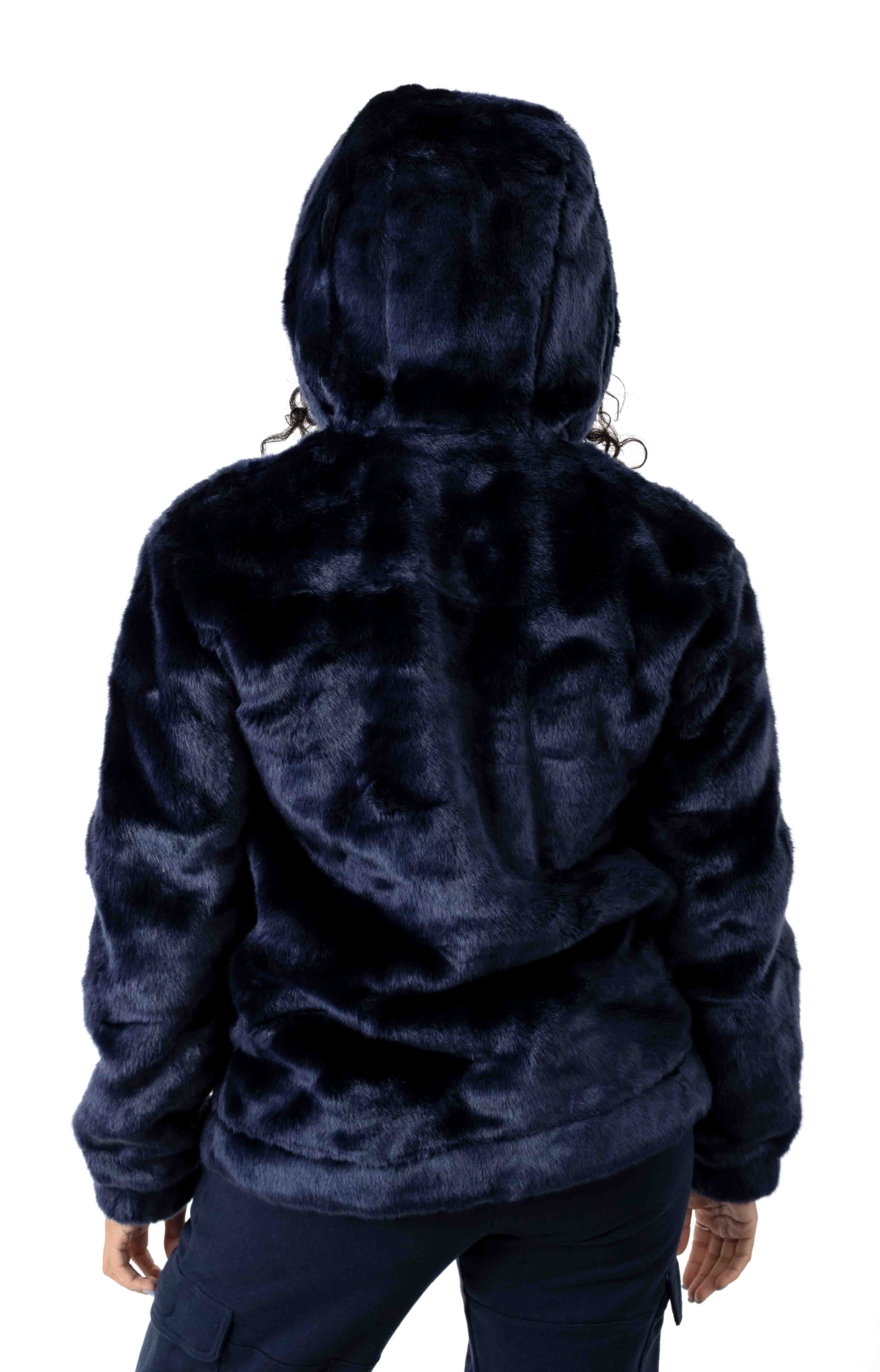 Dolly Oversized Pullover Hoodie - Peacoat 3