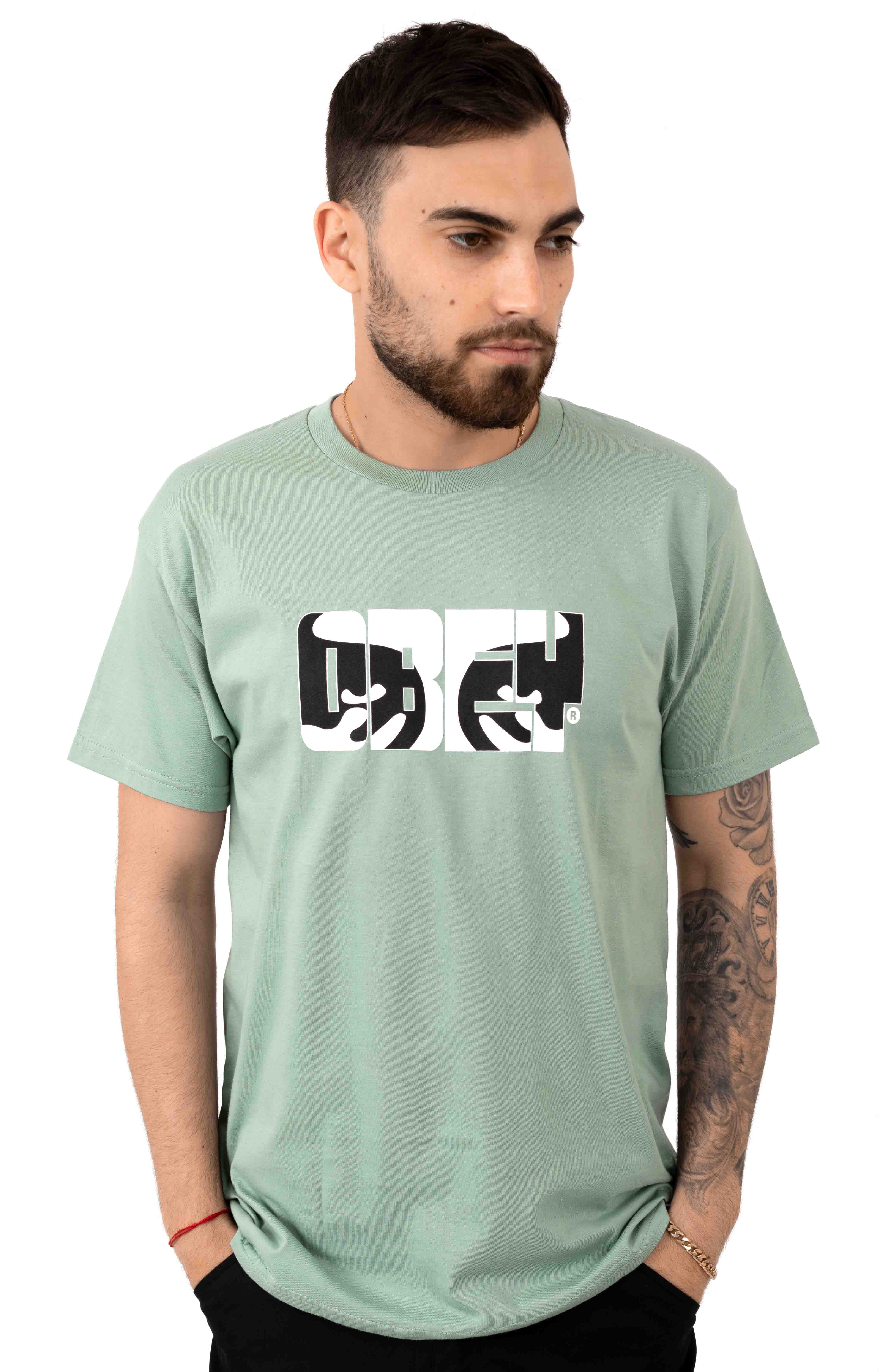 Eyes Of Obey T-Shirt - Sage