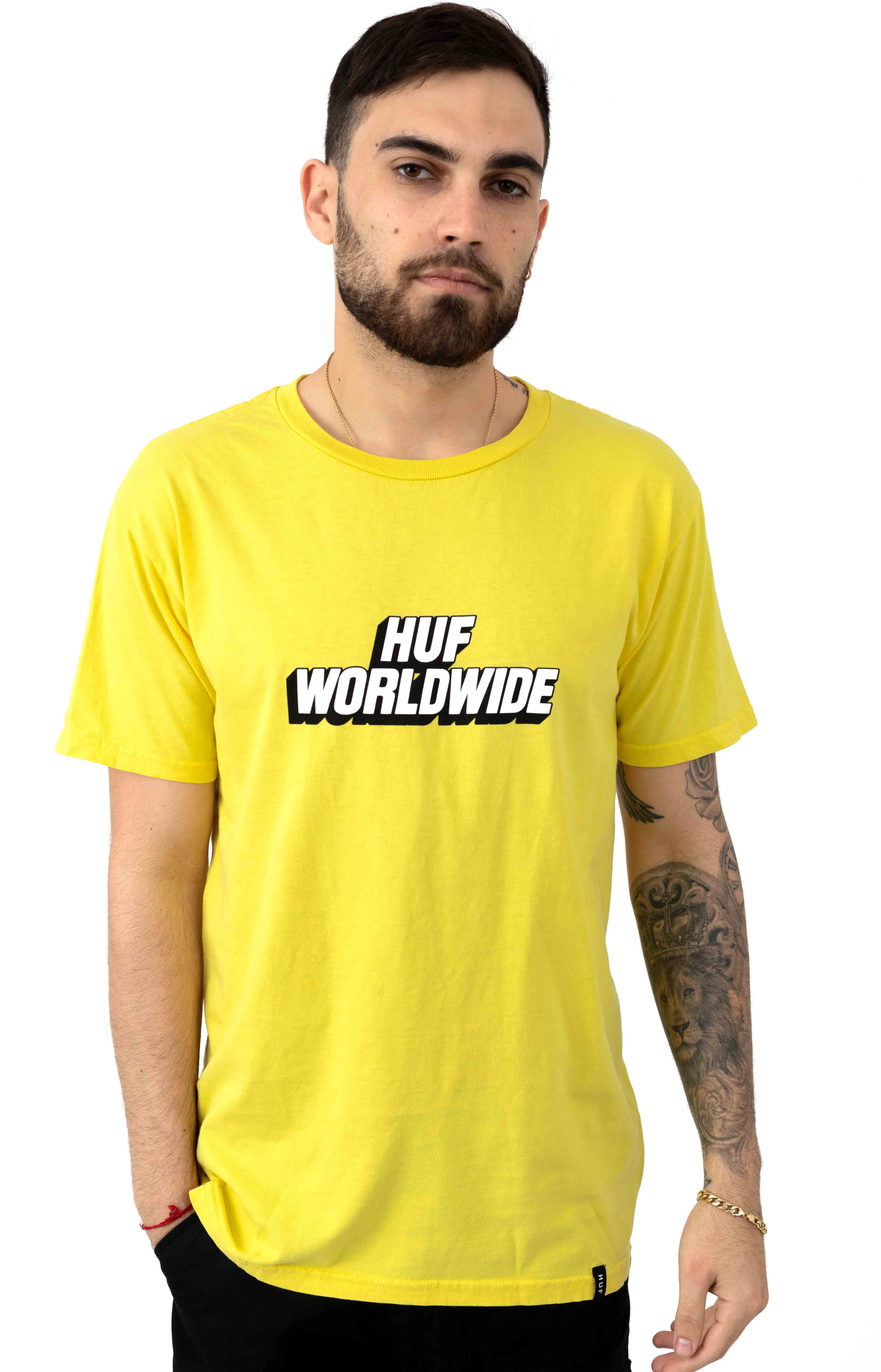 Postal T-Shirt - Aurora Yellow