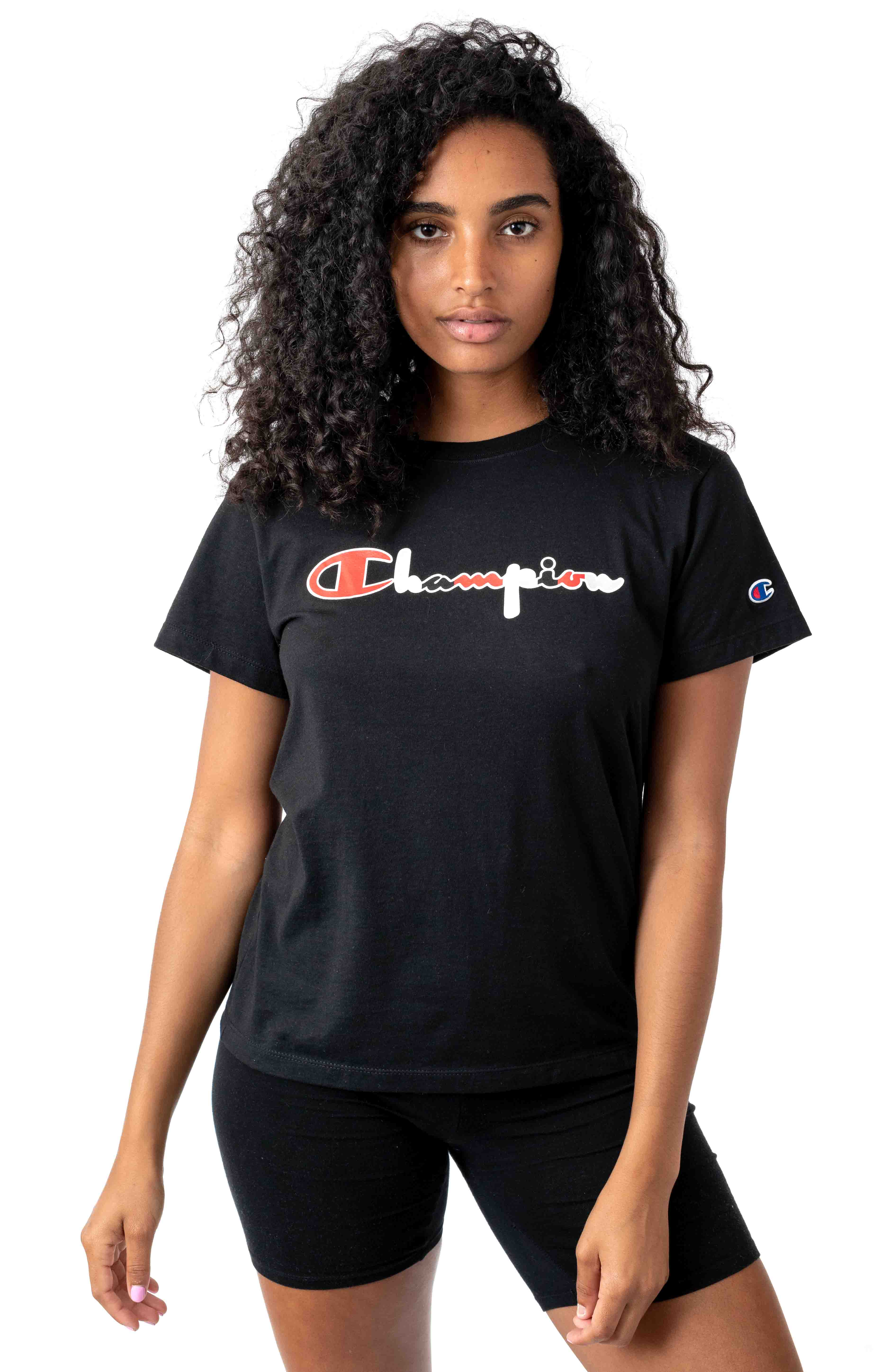 The Original 3 Color Script T-Shirt - Black