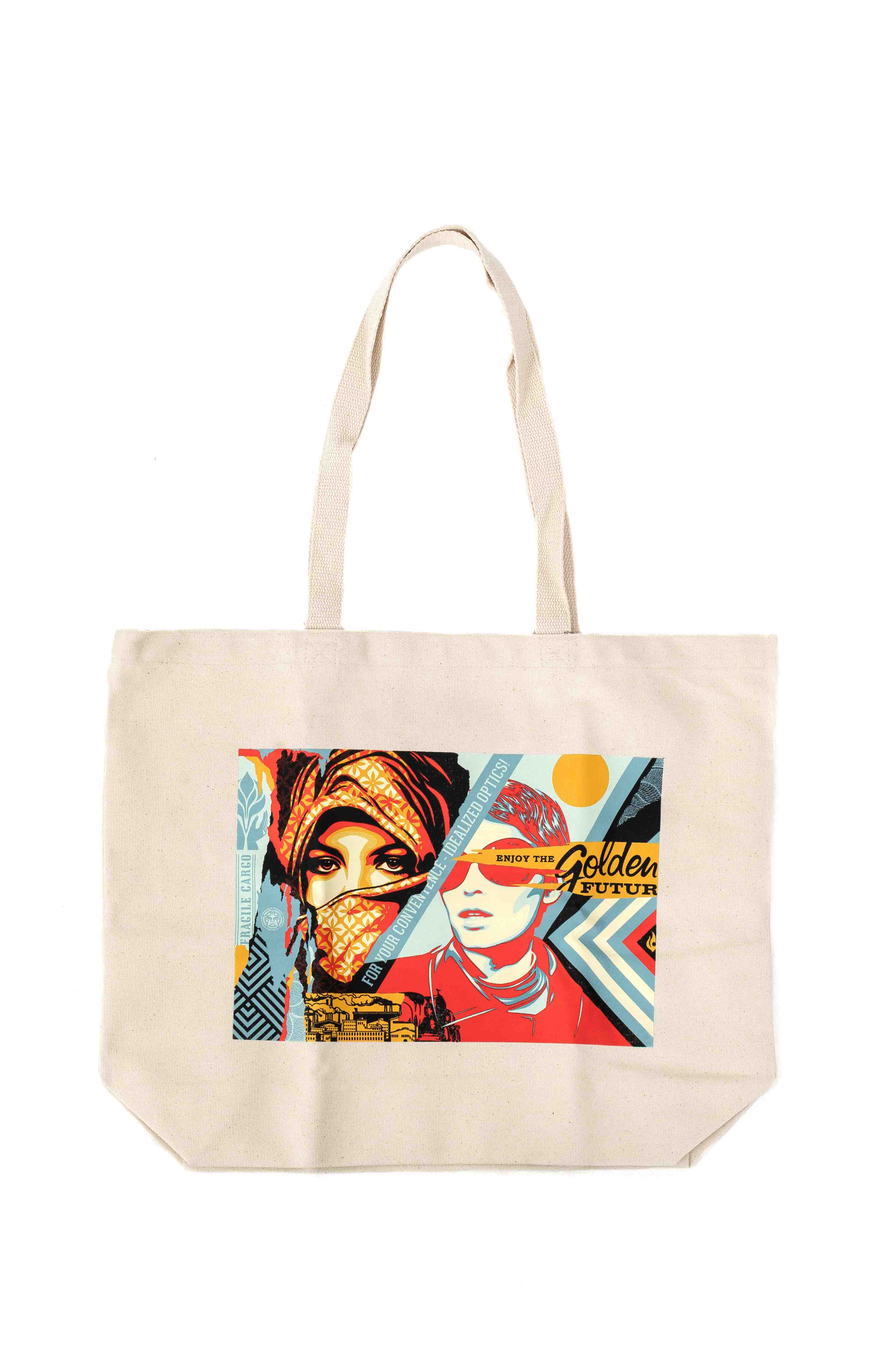 Golden Future Tote Bag - Nature