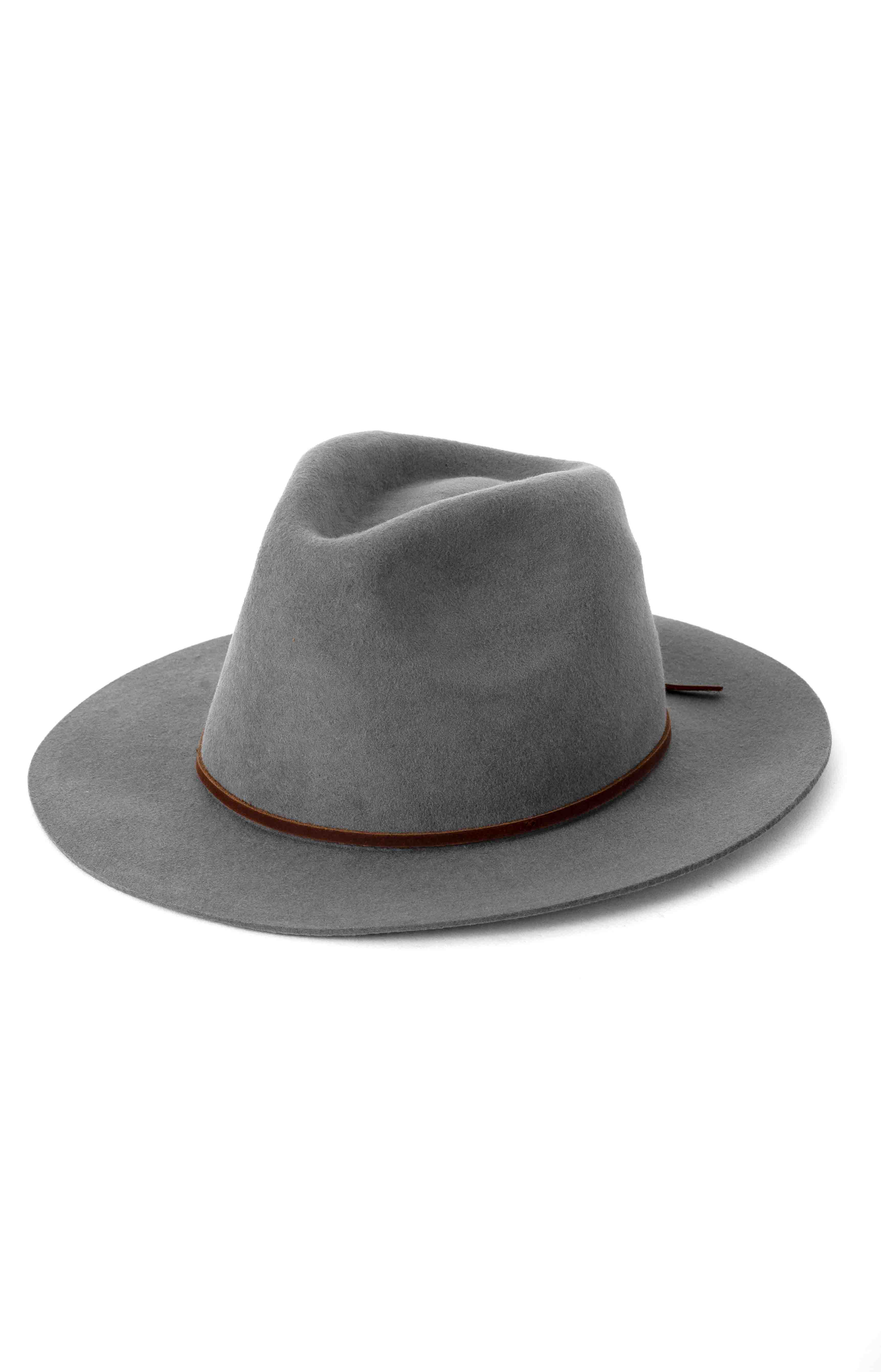 Wesley Fedora - Light Grey