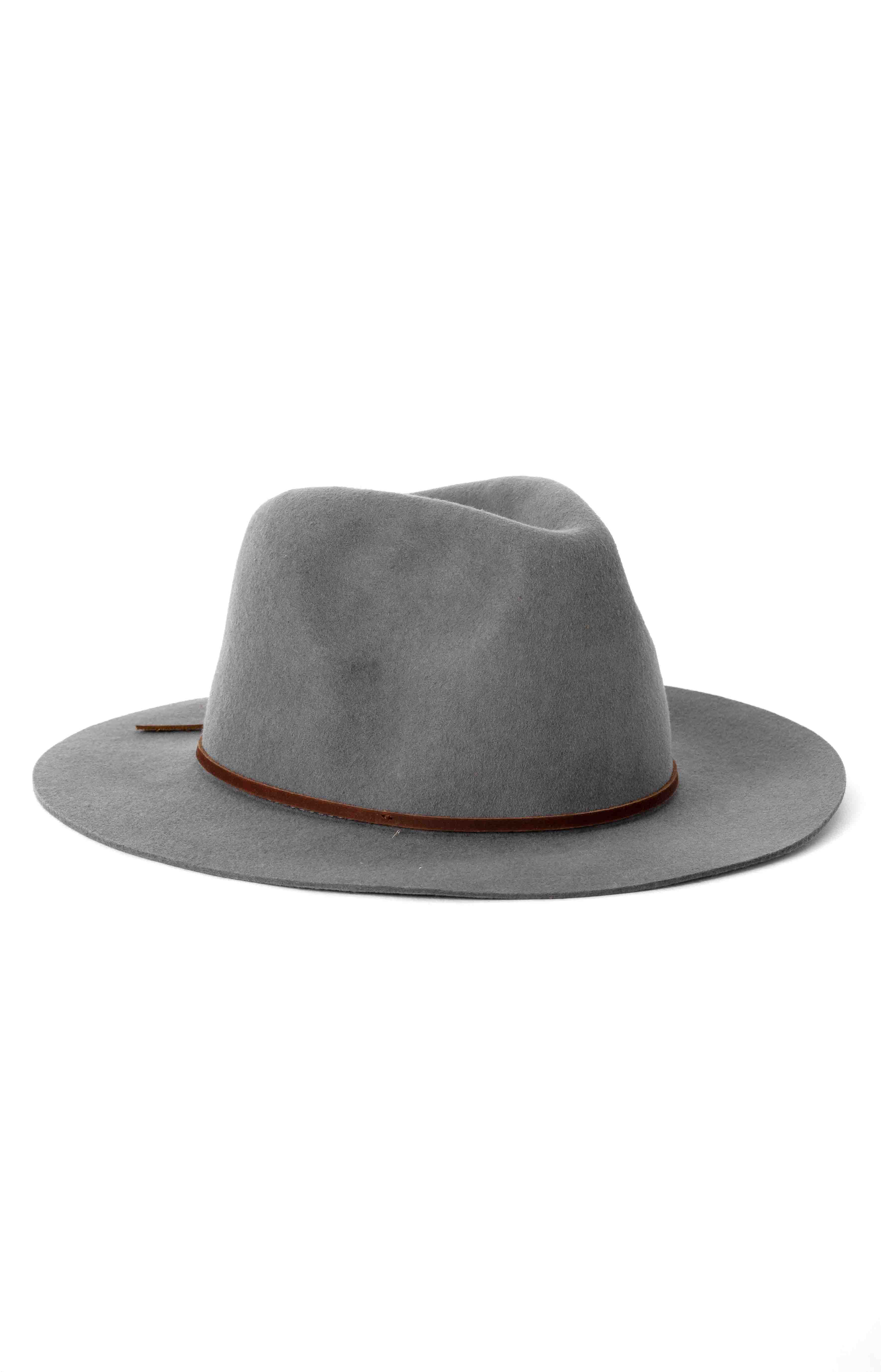 Wesley Fedora - Light Grey  2