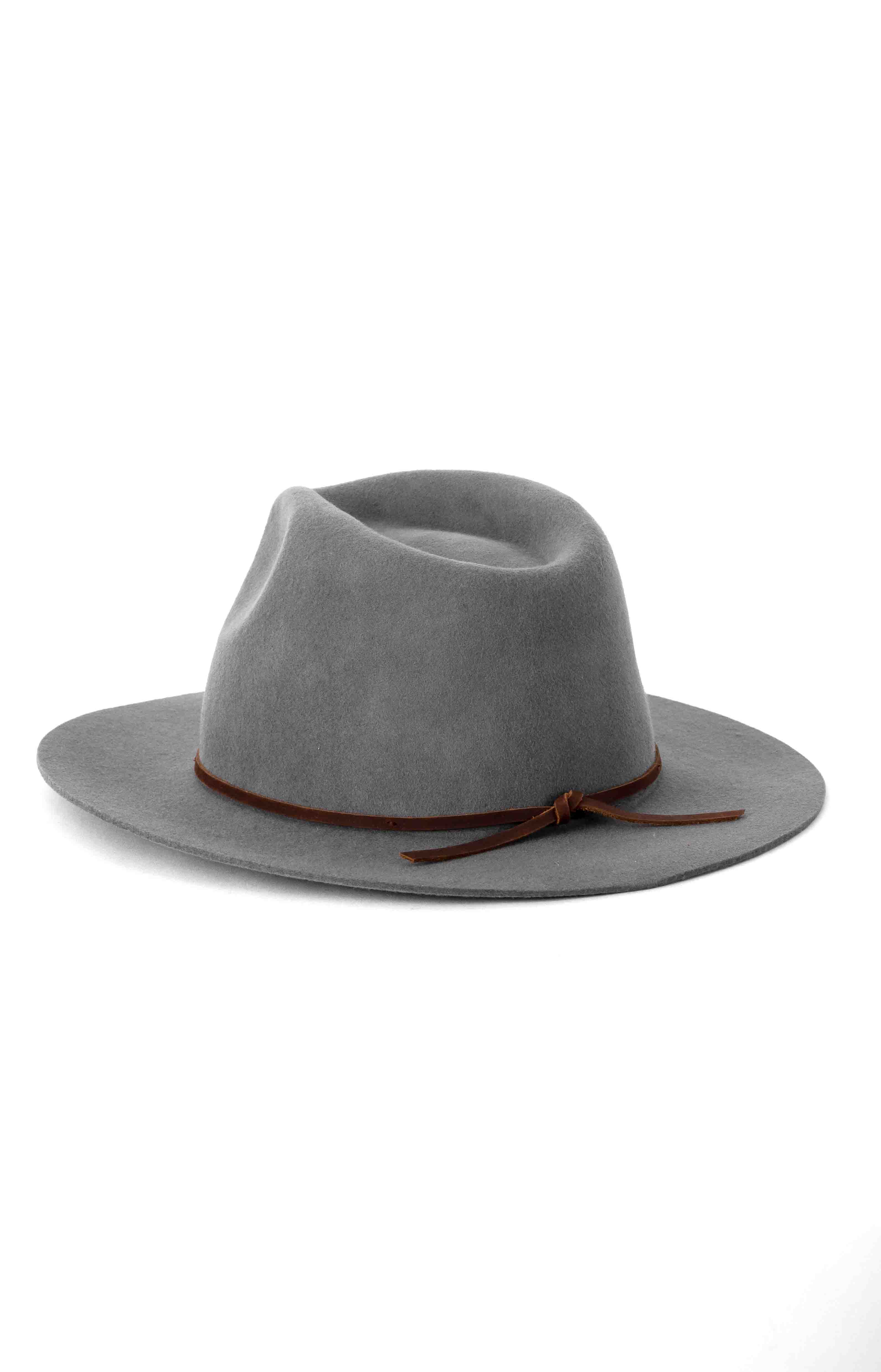 Wesley Fedora - Light Grey  3