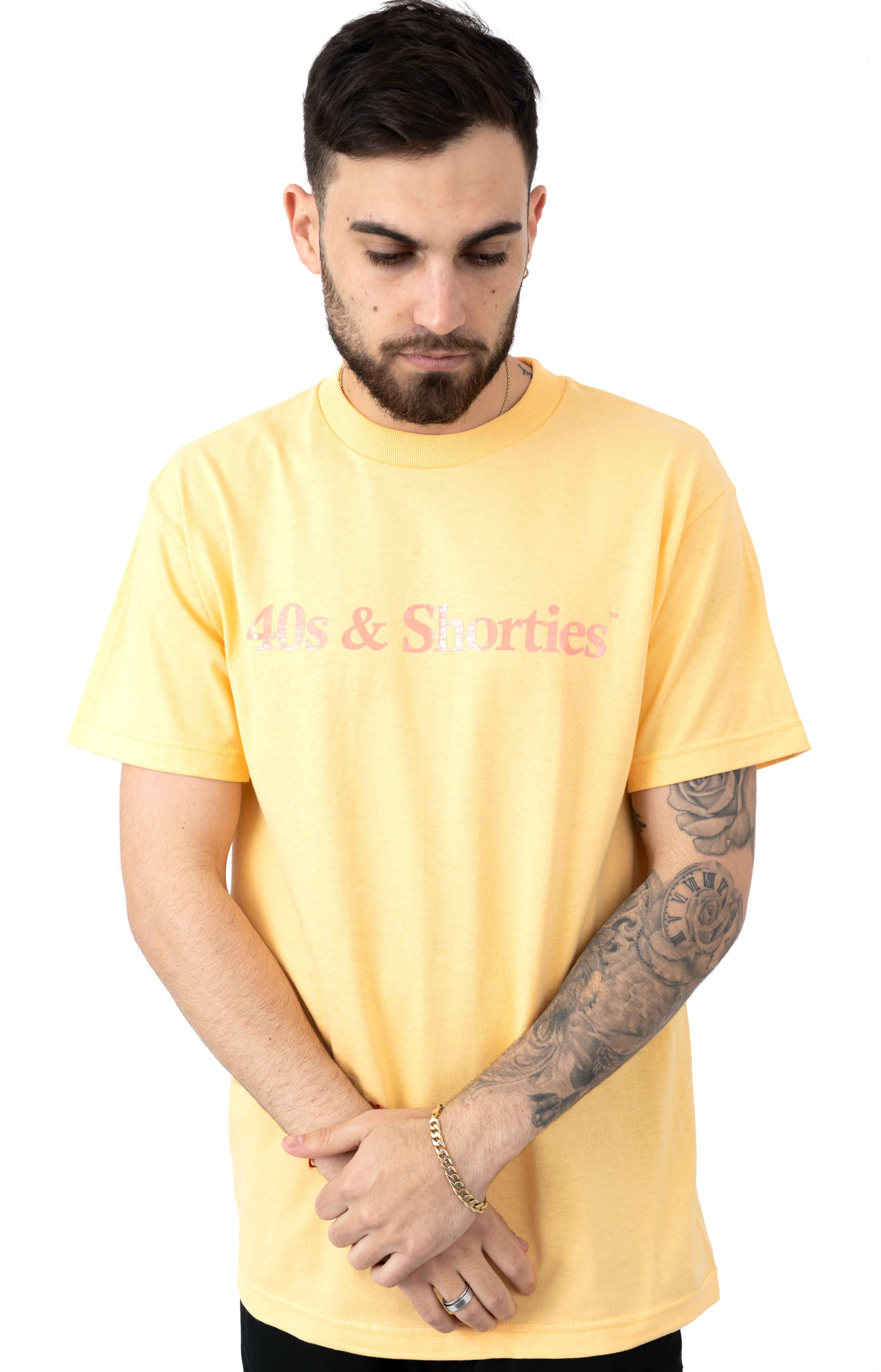 Text Logo T-Shirt - Squash