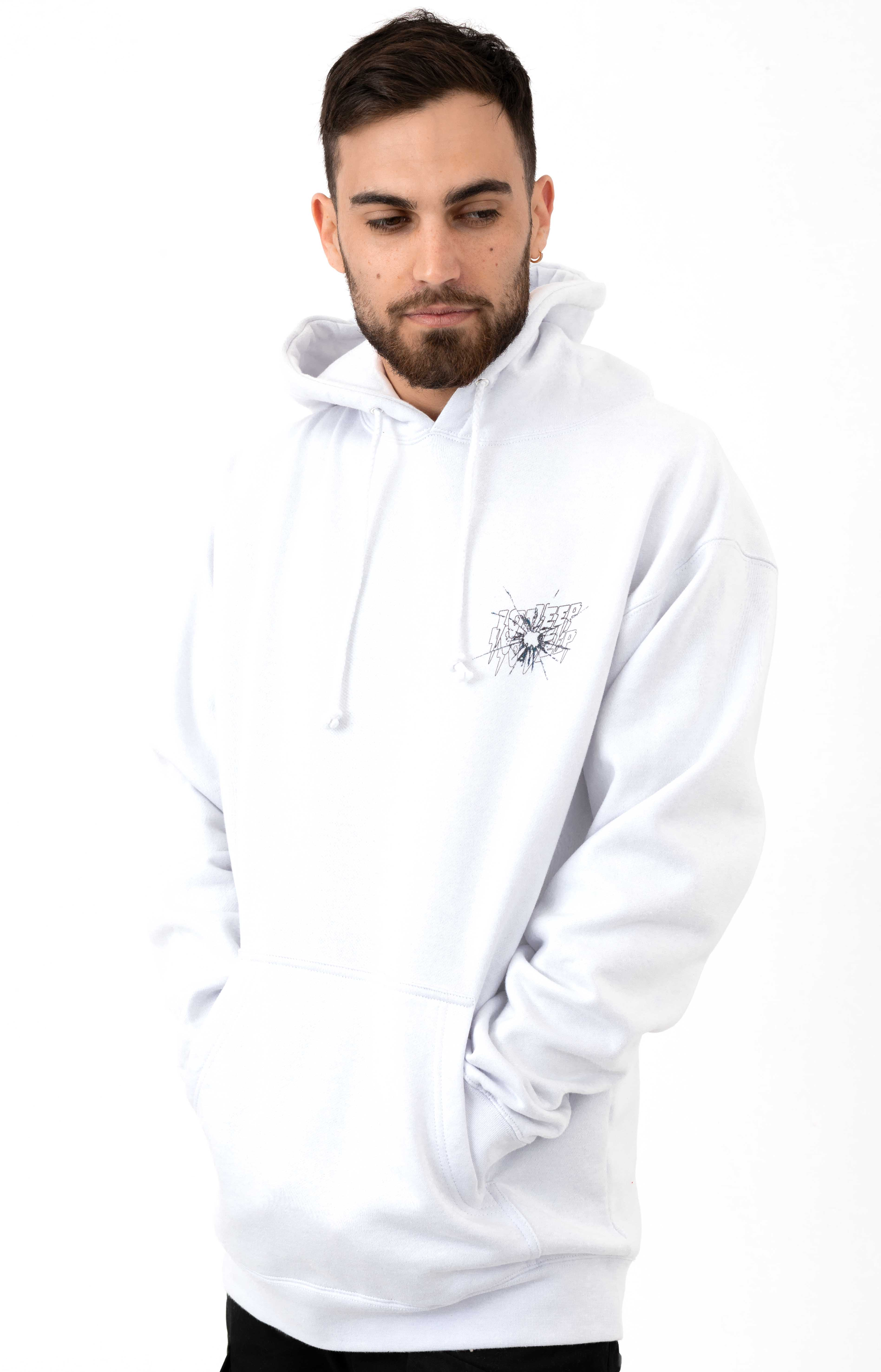Ricochet Pullover Hoodie - White