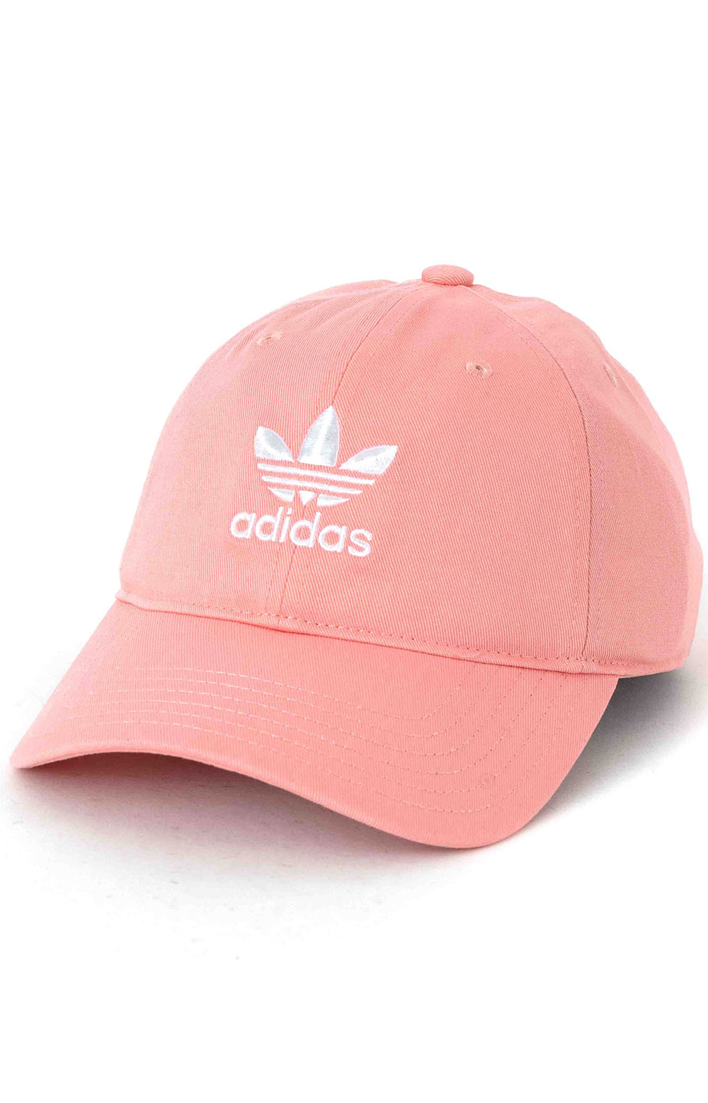 Originals Relaxed Strap-Back Hat - Glory Pink/White