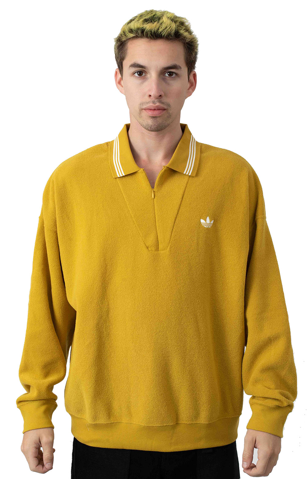 Bouclette L/S Shirt - Spice Yellow