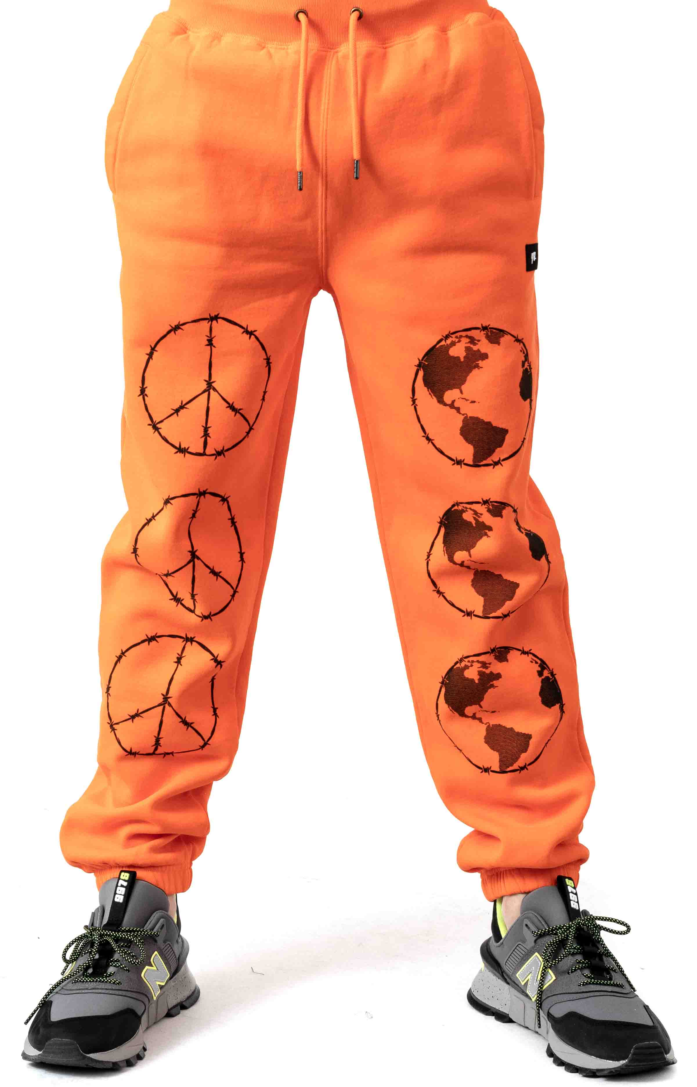 Protect Sweatpant - Orange  2
