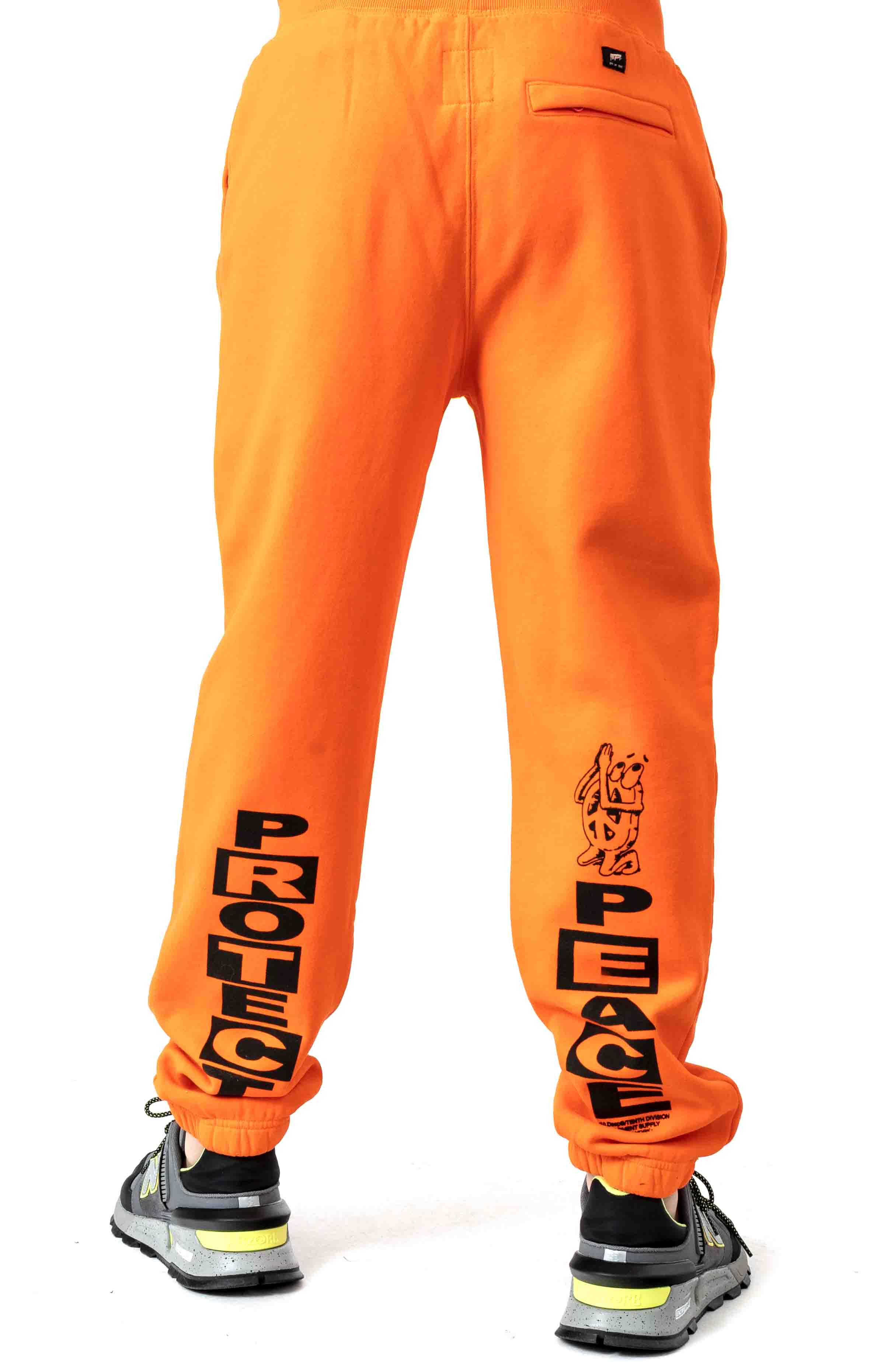 Protect Sweatpant - Orange  3