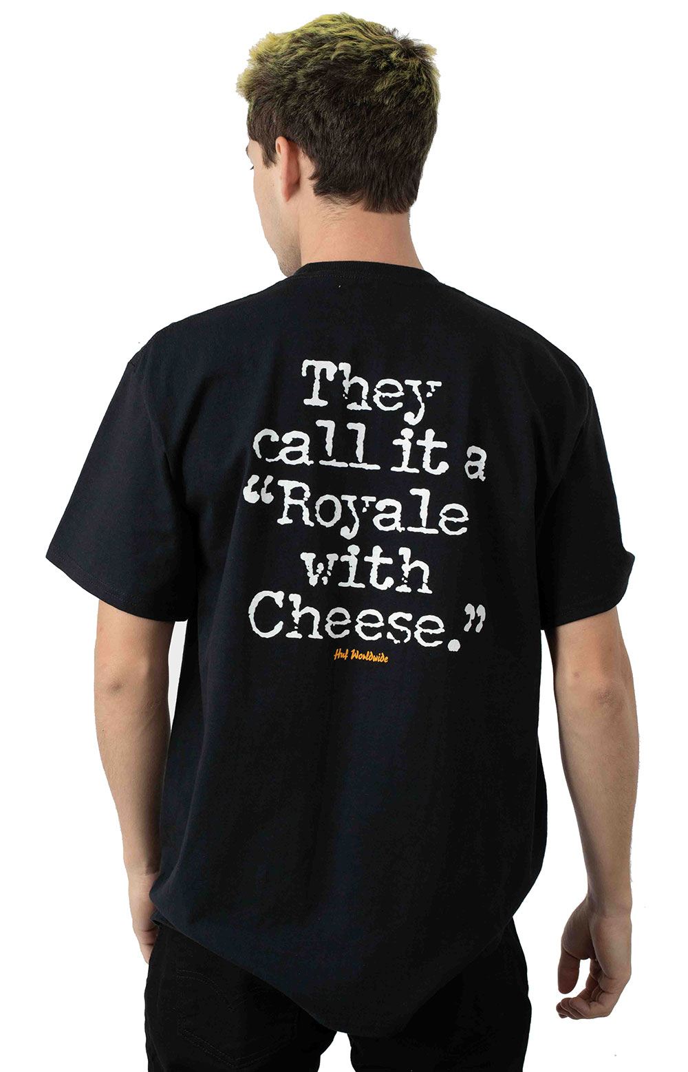 Royale With Cheese T-Shirt - Black 3