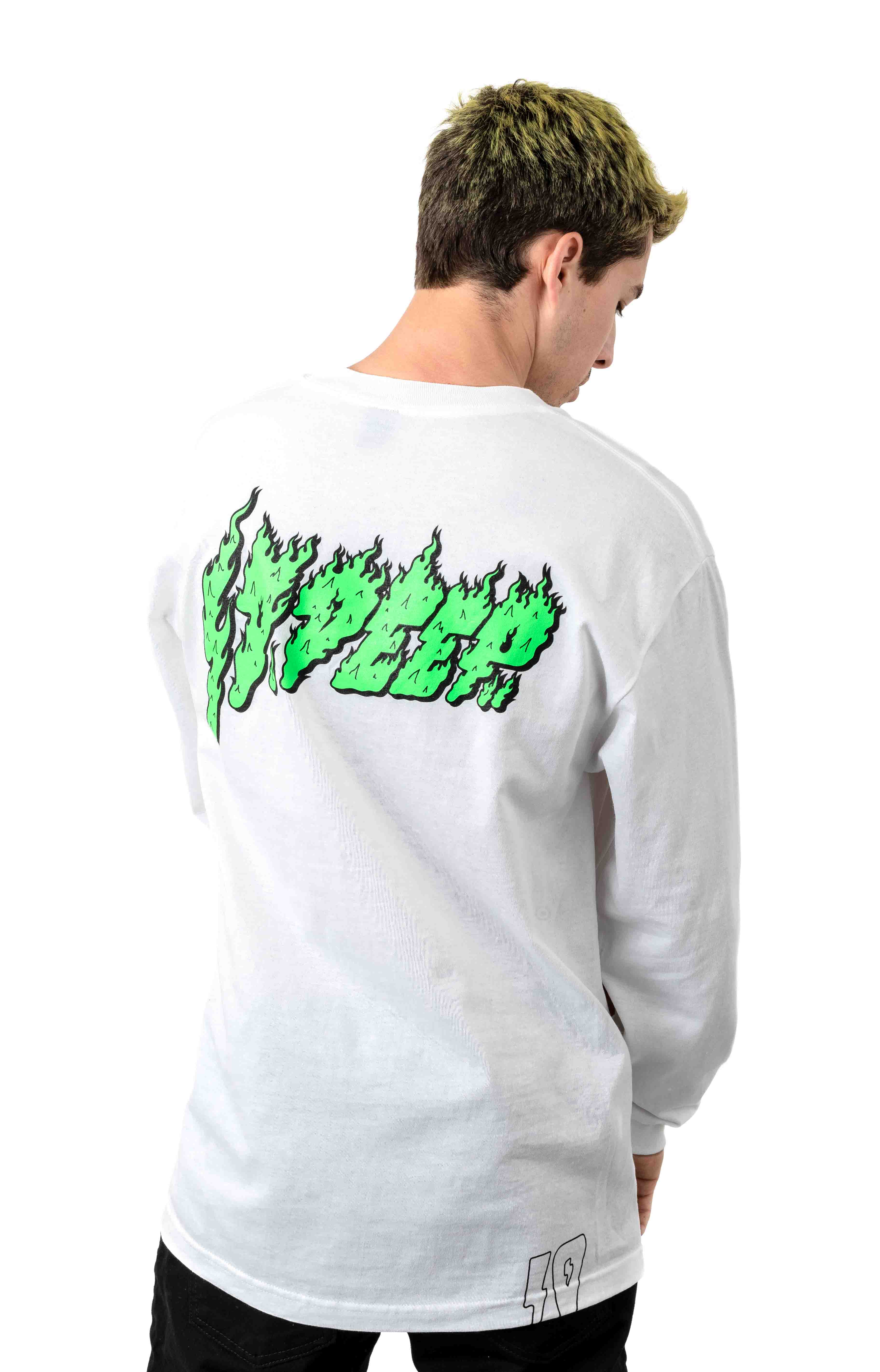 Slime And Fury L/S Shirt - White
