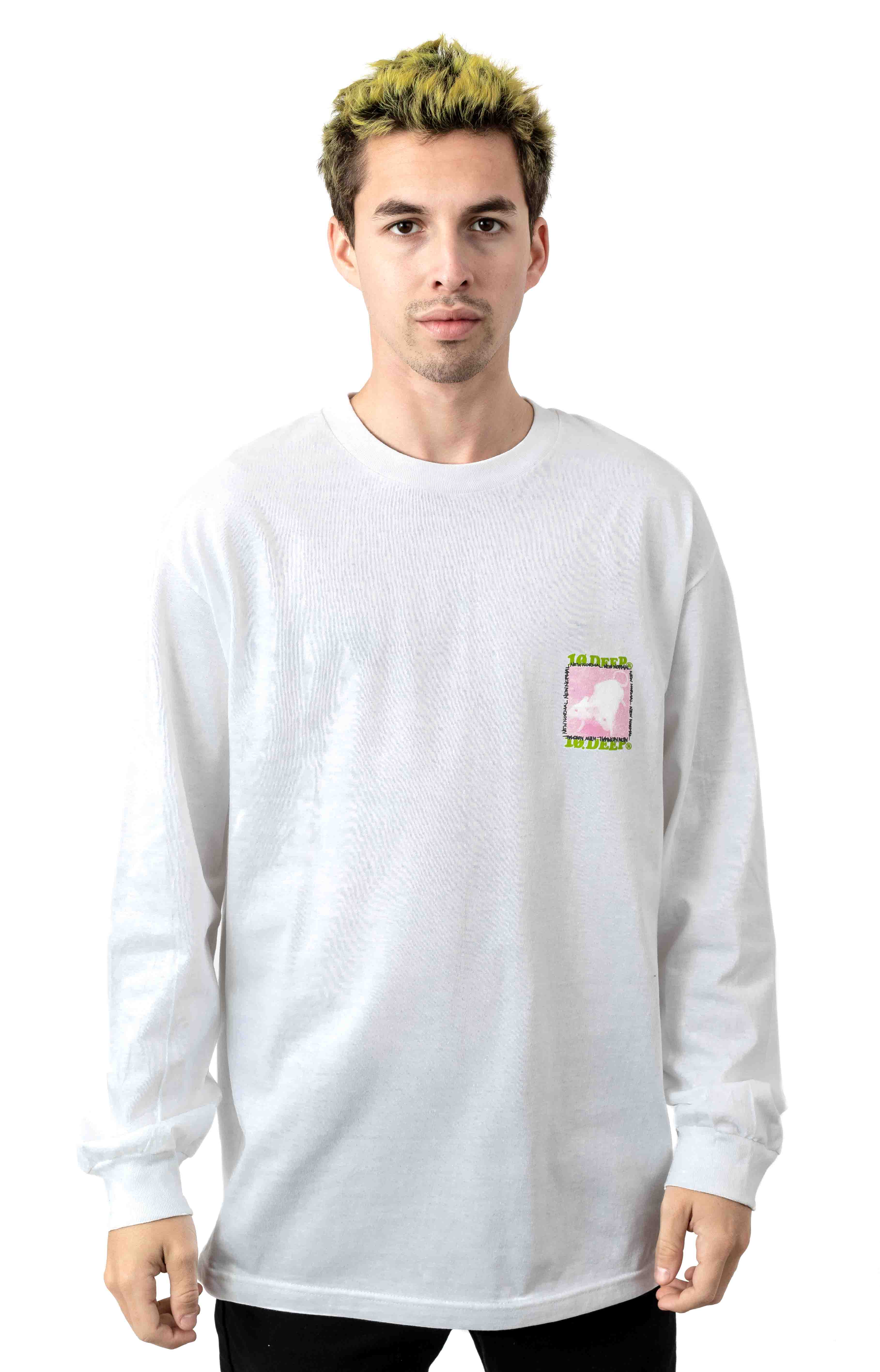 New Normal L/S Shirt - White  2