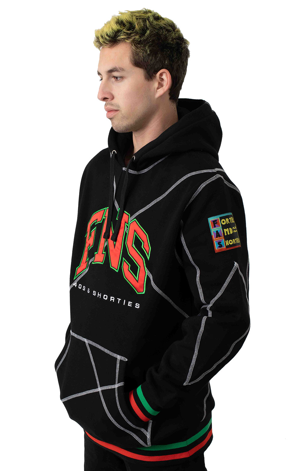 Higher Learning Pullover Hoodie - Black 2