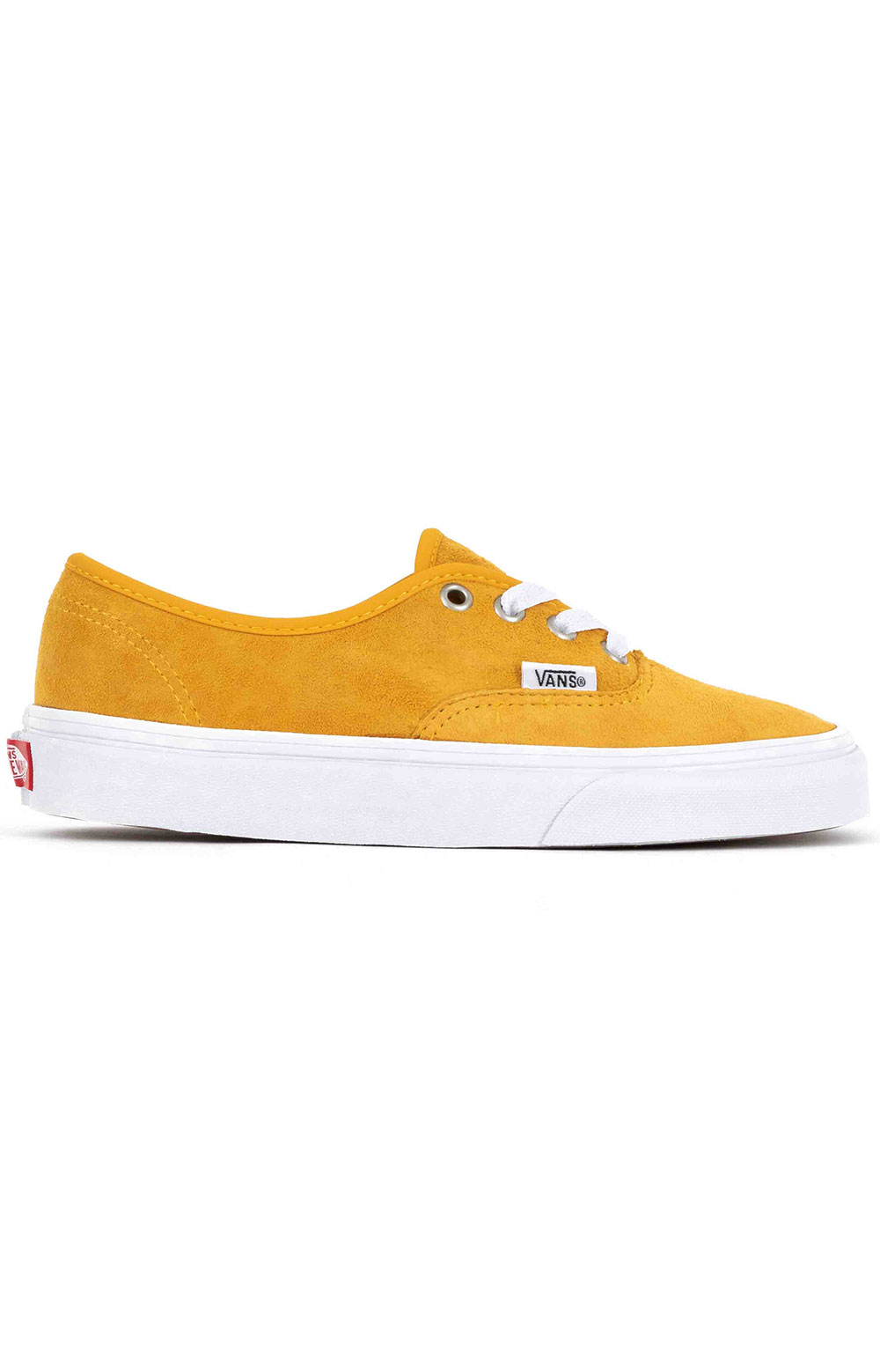 Vans Women's, (Z5IV77) Pig Suede Authentic Shoe - Mango Mojito