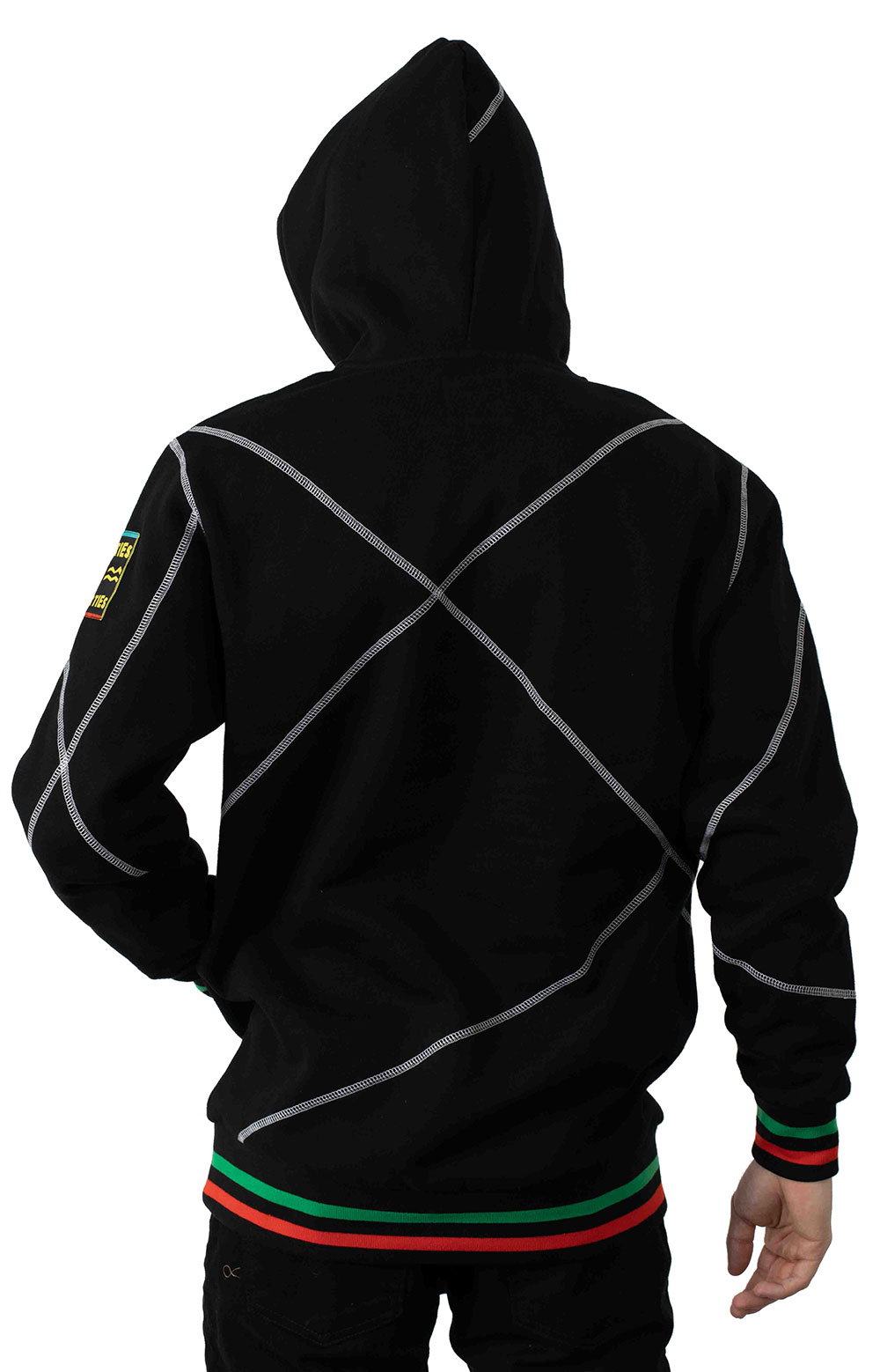 Higher Learning Pullover Hoodie - Black 3