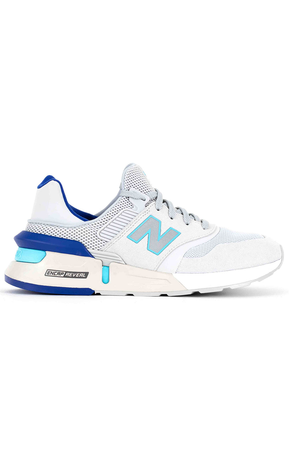 (MS997RA) 997 Sport Shoes -  Light Aluminum/Bayside