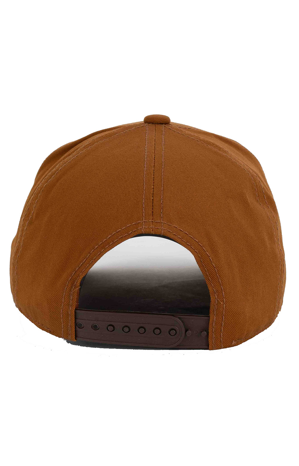 Embroidery Standard Logo Snap-Back Hat - Brown 3
