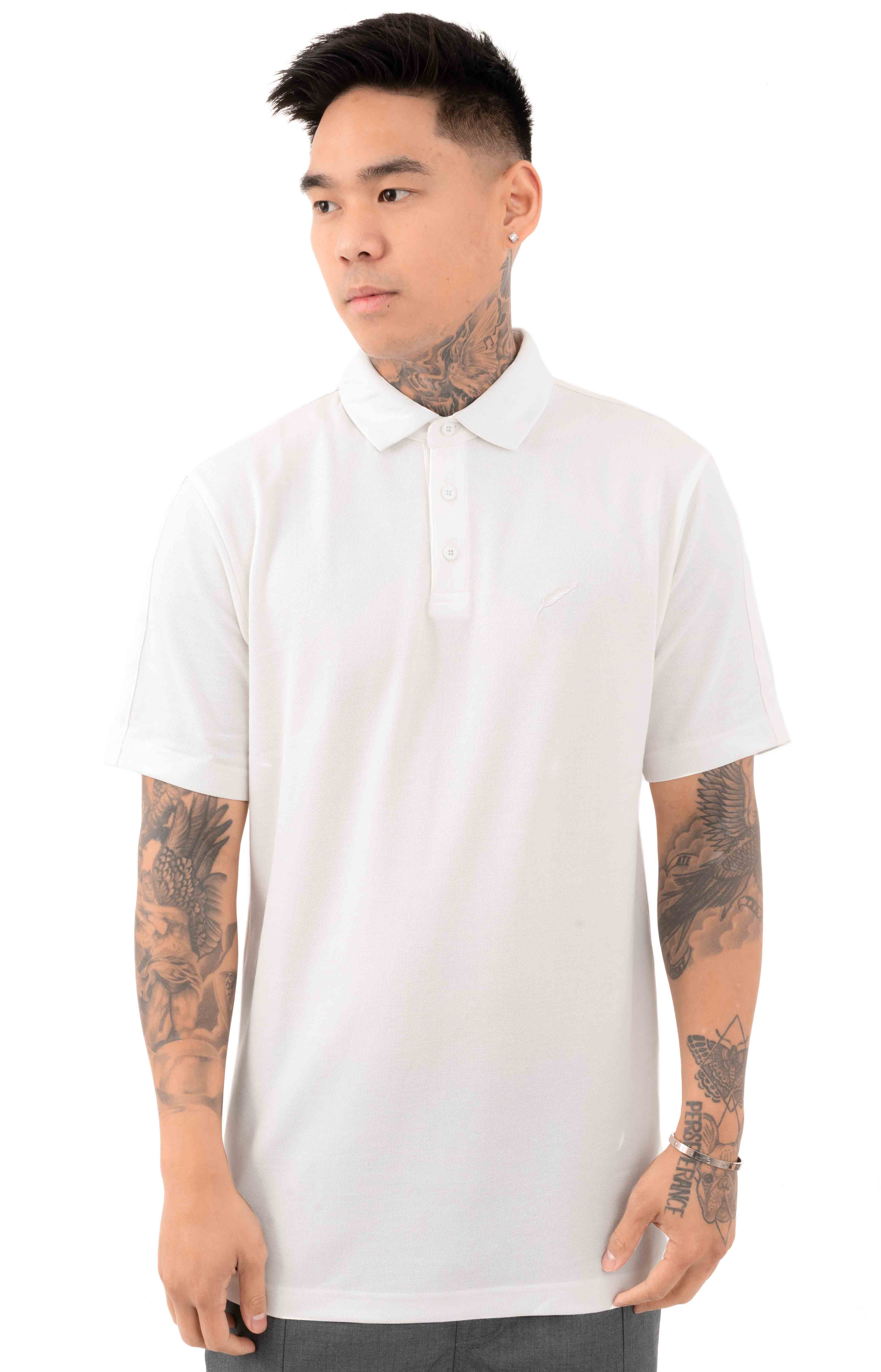 Index S/S Polo Shirt - White