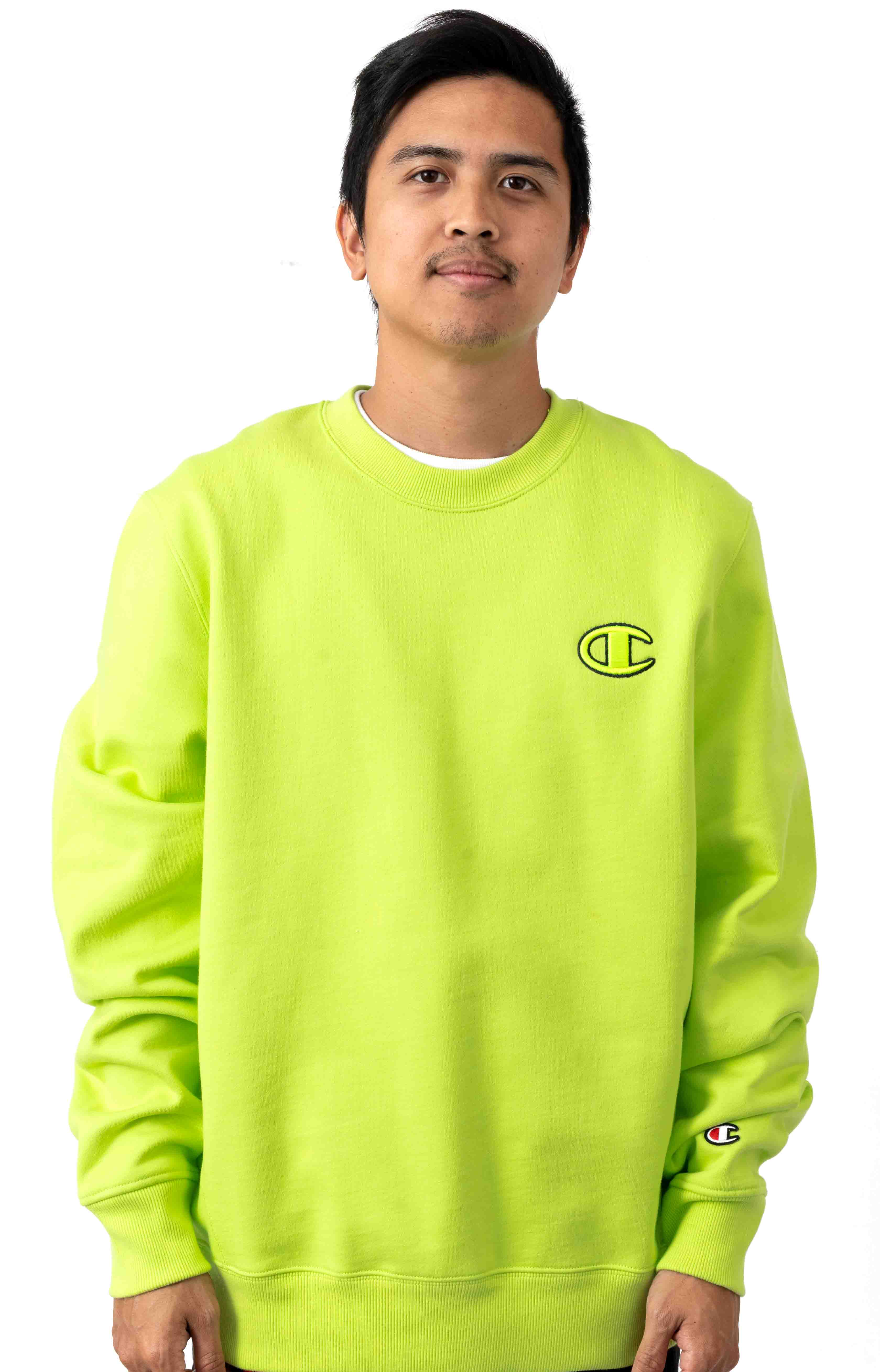 Super Fleece 2.0 Crewneck - Neon Light