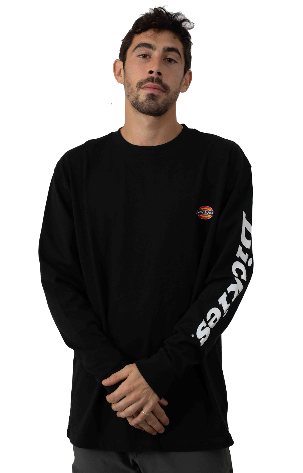(WL469BK) L/S Graphic T-Shirt - Black