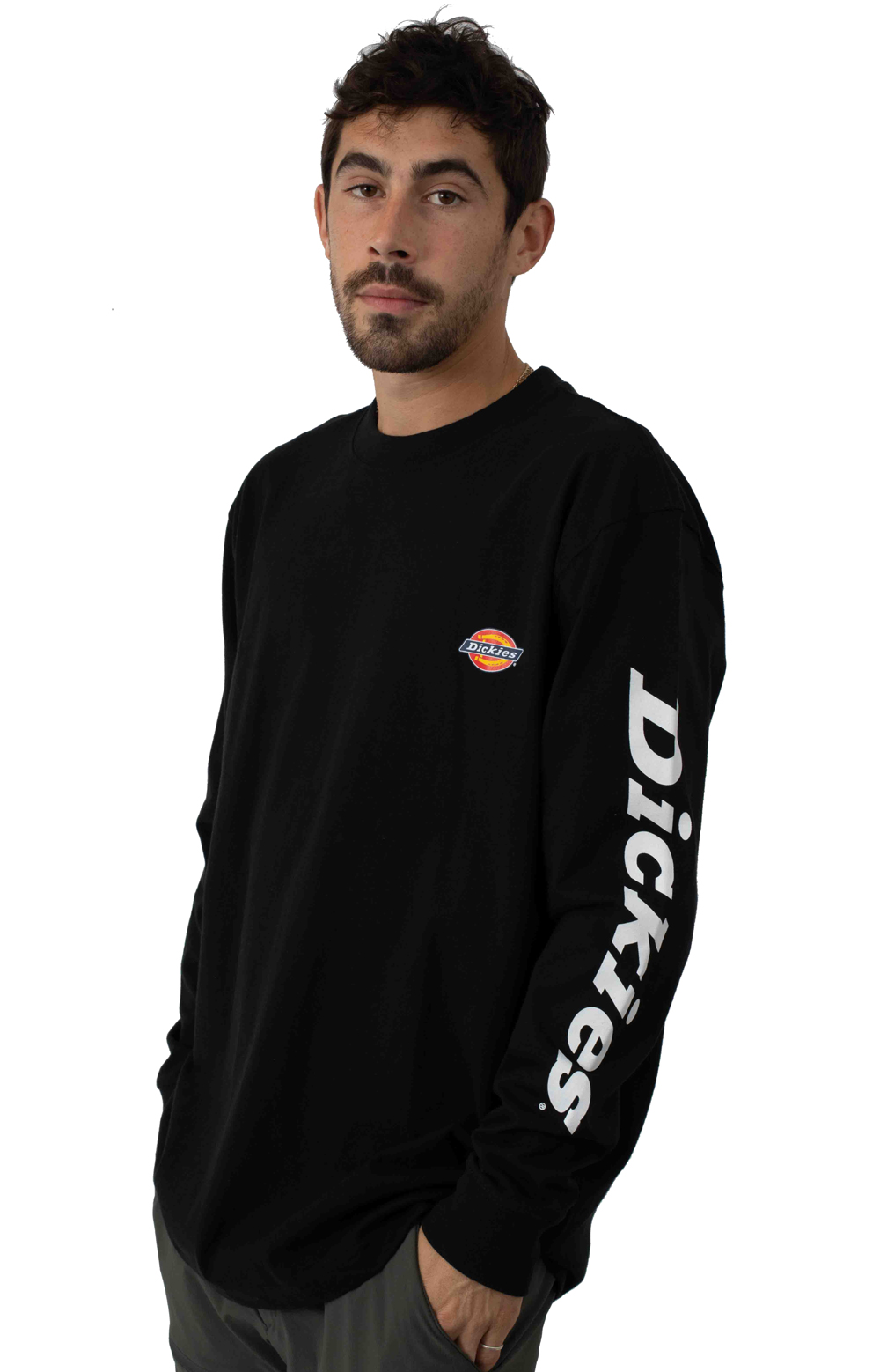 (WL469BK) L/S Graphic T-Shirt - Black 2